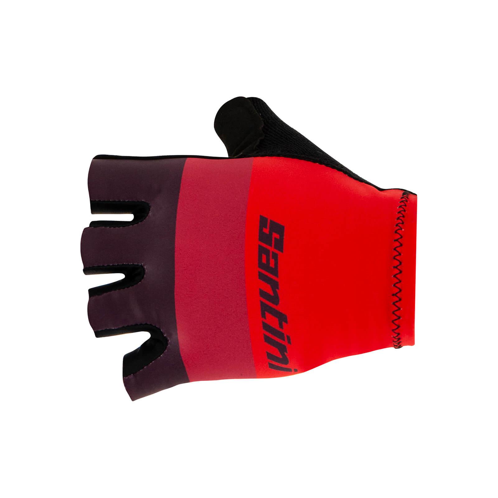 Santini La Vuelta 2021 Burgos Summer Gloves - L