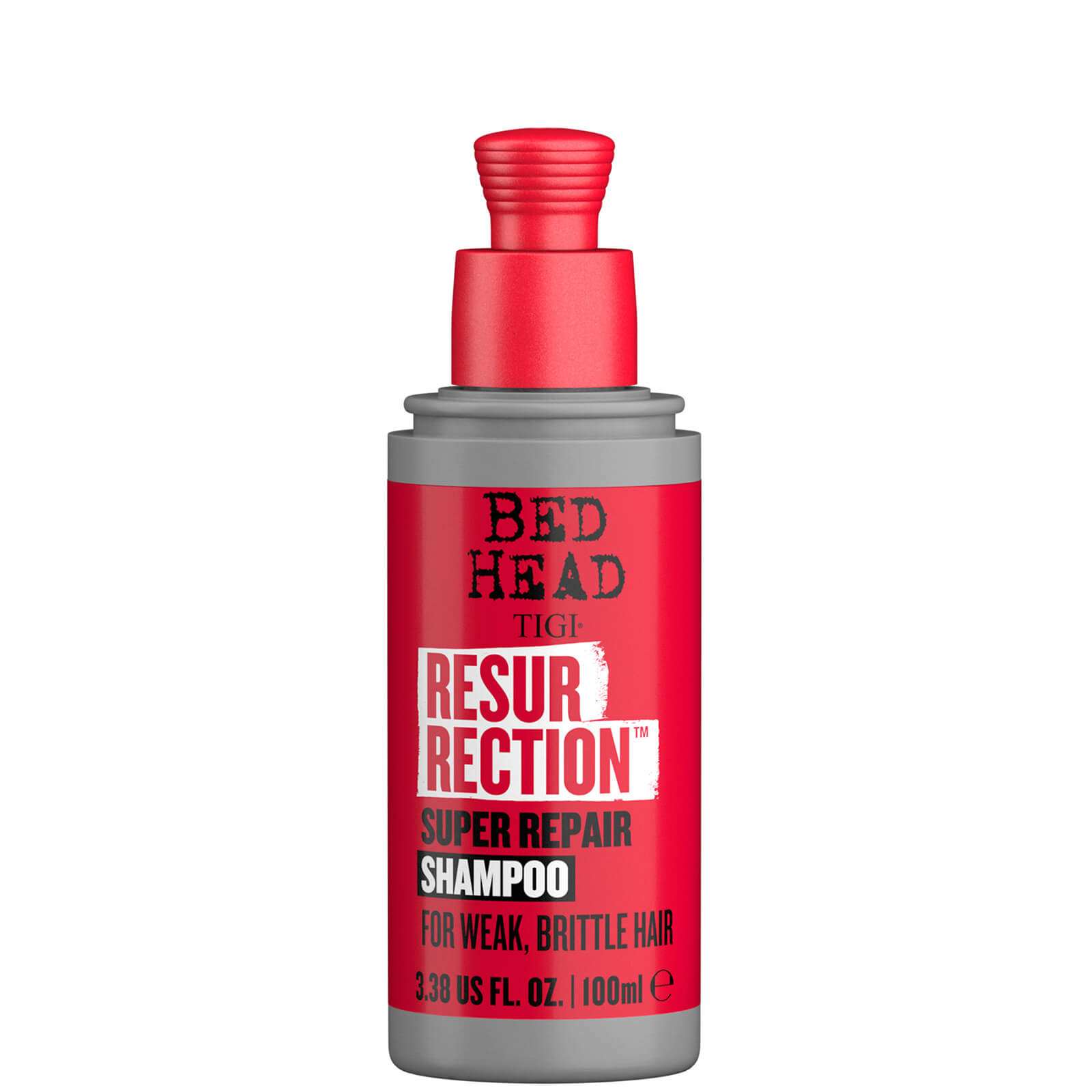 Купить TIGI Bed Head Resurrection Repair Shampoo for Damaged Hair Travel Size 100ml