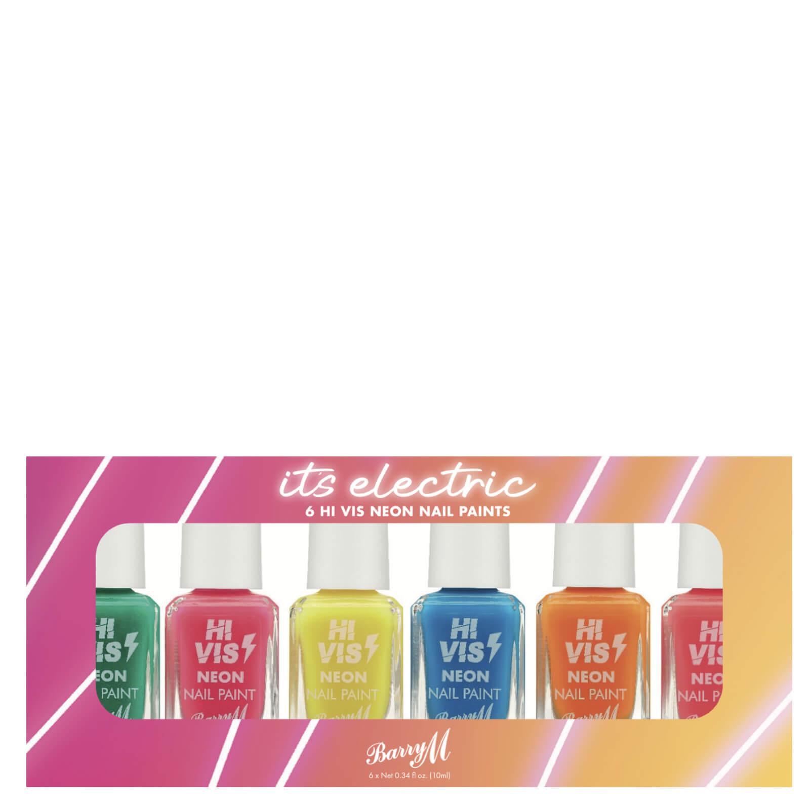 Купить Barry M Cosmetics Nail Paint Gift Set - It's Electric