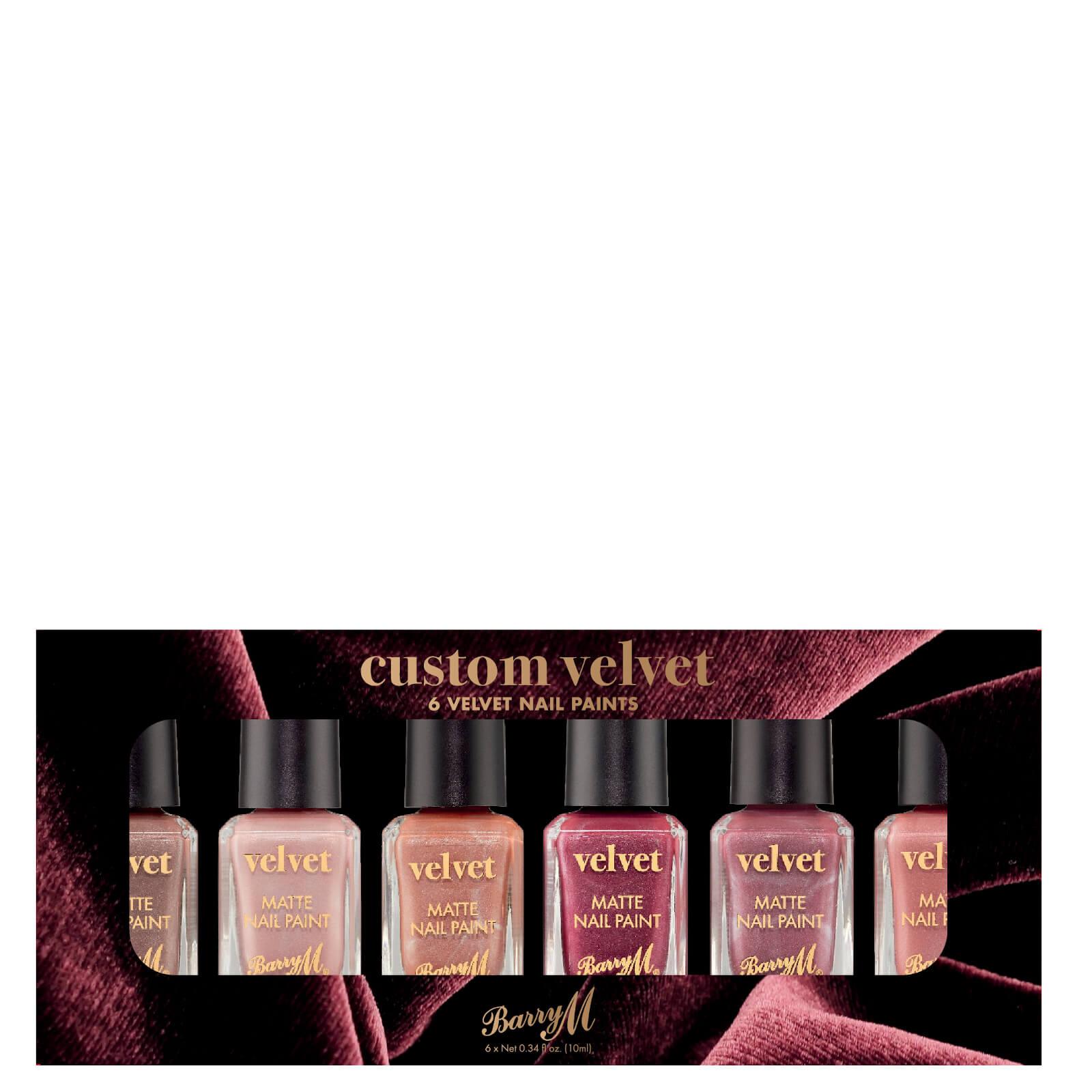Купить Barry M Cosmetics Nail Paint Gift Set - Custom Velvet