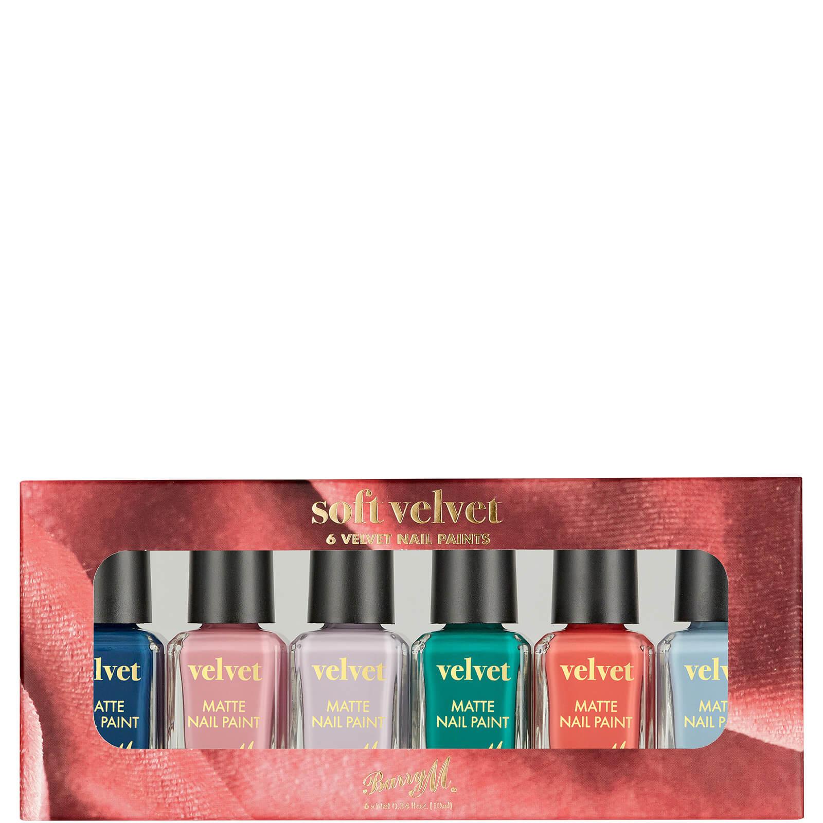 Купить Barry M Cosmetics Nail Paint Gift Set - Soft Velvet