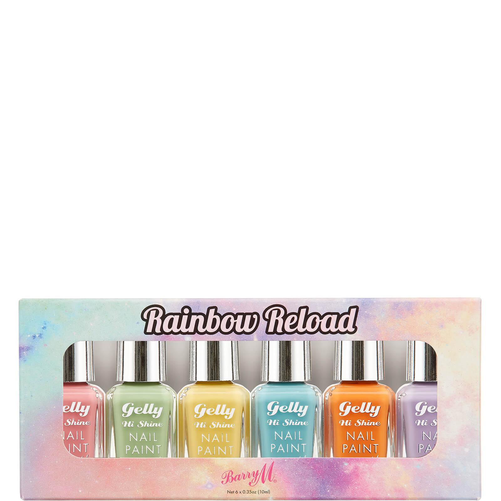 Barry M Cosmetics Nail Paint Gift Set - Rainbow Reload  - Купить