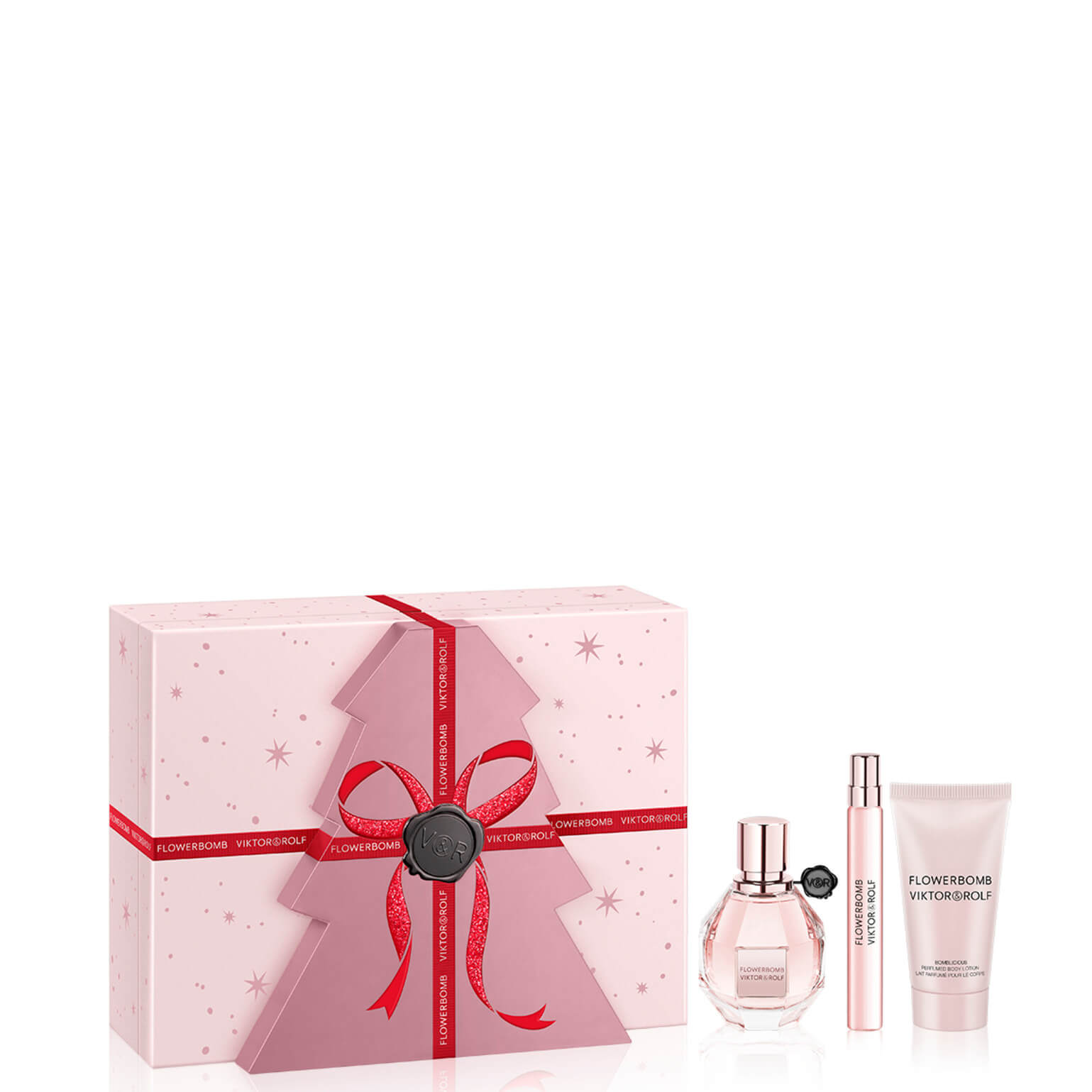 Viktor and Rolf Flowerbomb Eau de Parfum Luxury Gift Set 50ml (Worth £115.00)