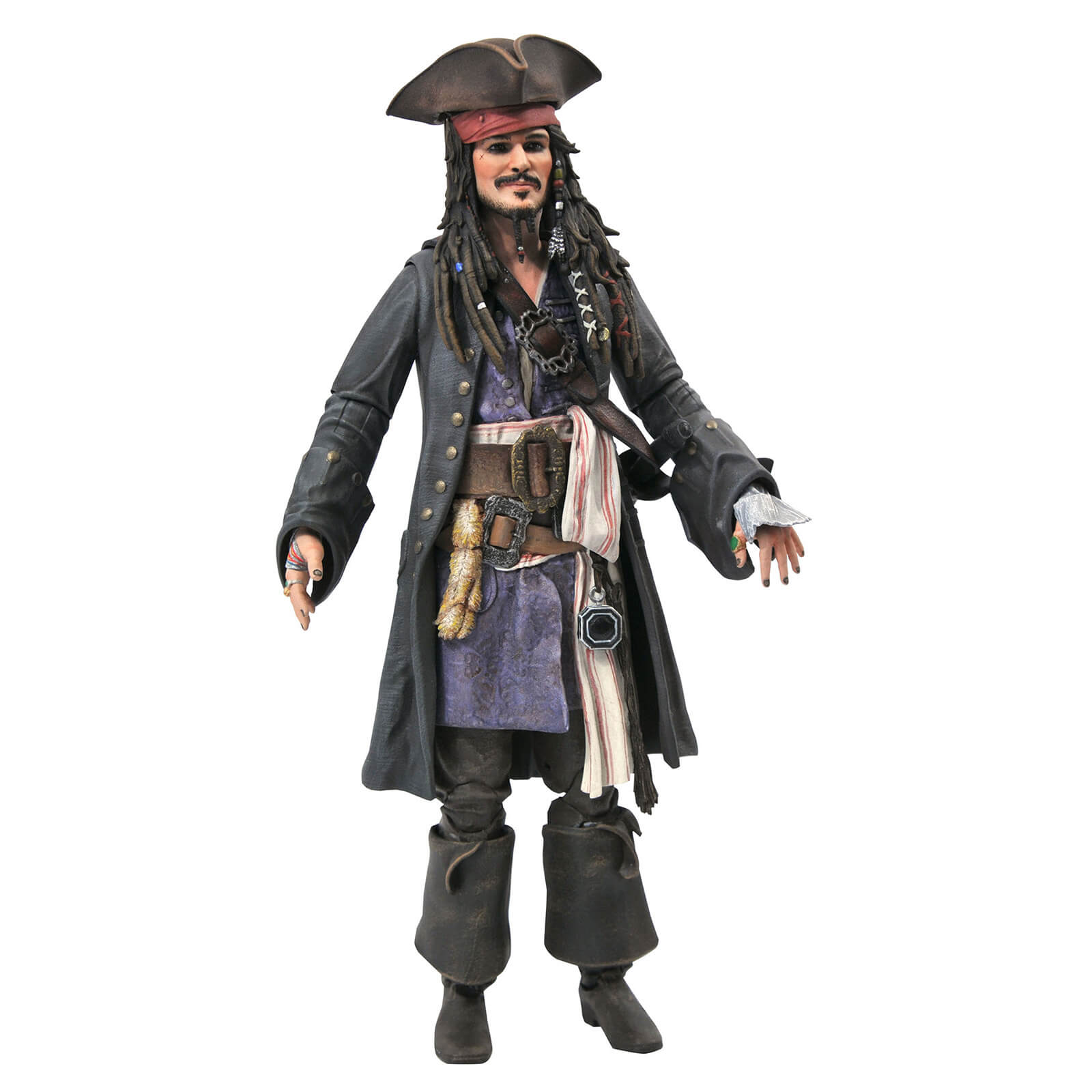 Diamond Select The Pirates Of The Caribbean Deluxe Action Figure - Jack Skellington