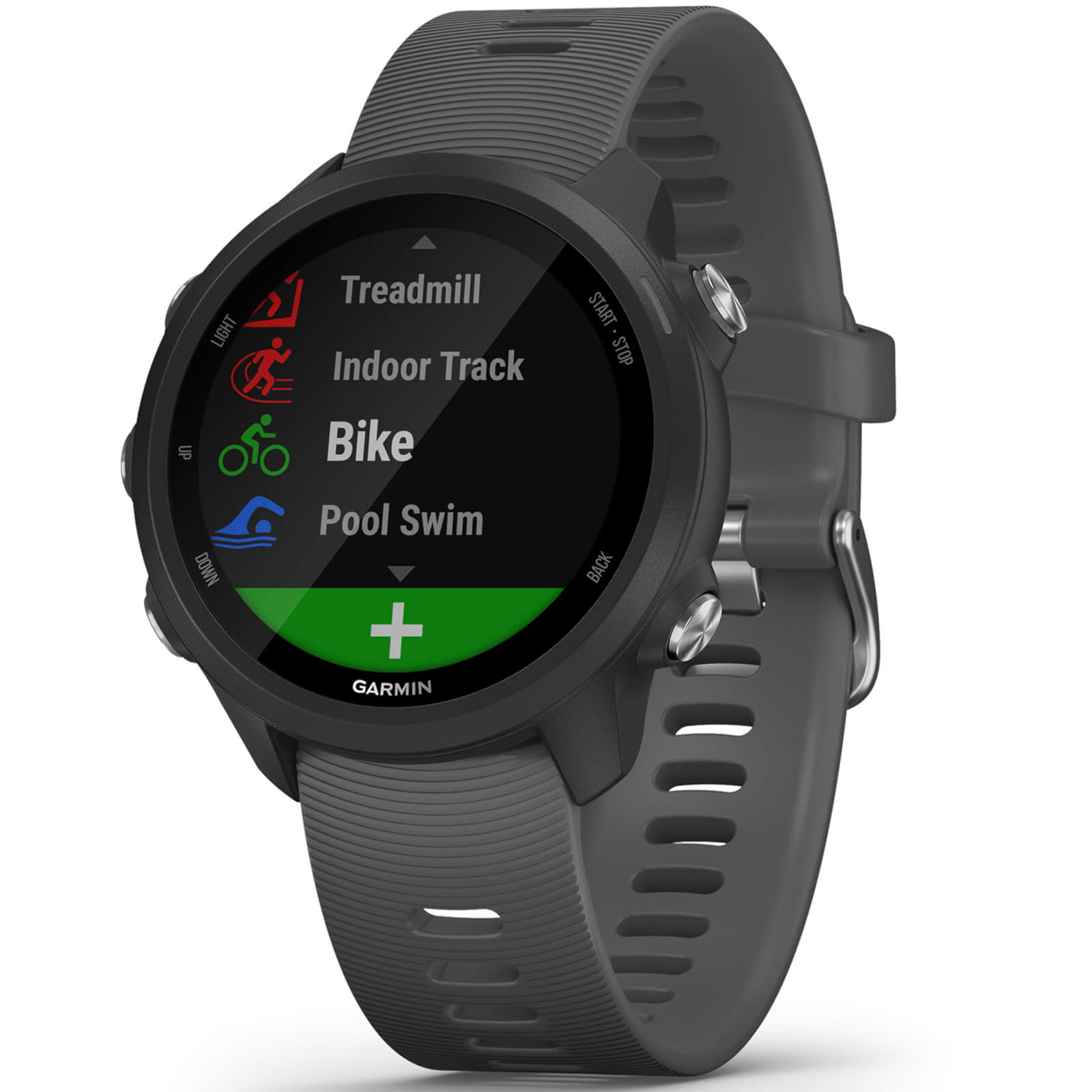 Garmin Forerunner 245 Running Watch - Black/Slate