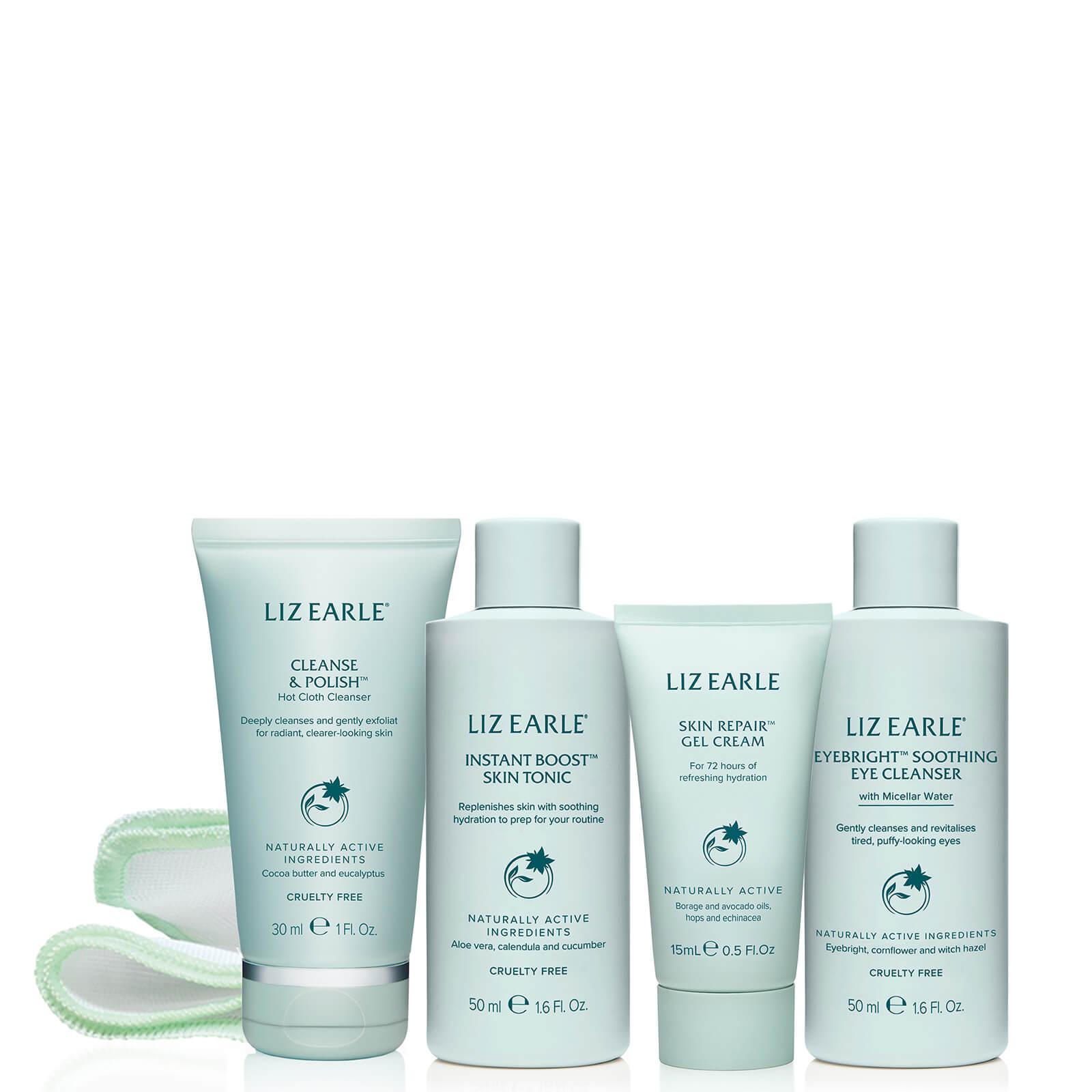 Купить Liz Earle Your Daily Routine with Skin Repair Gel Cream Try-Me Kit