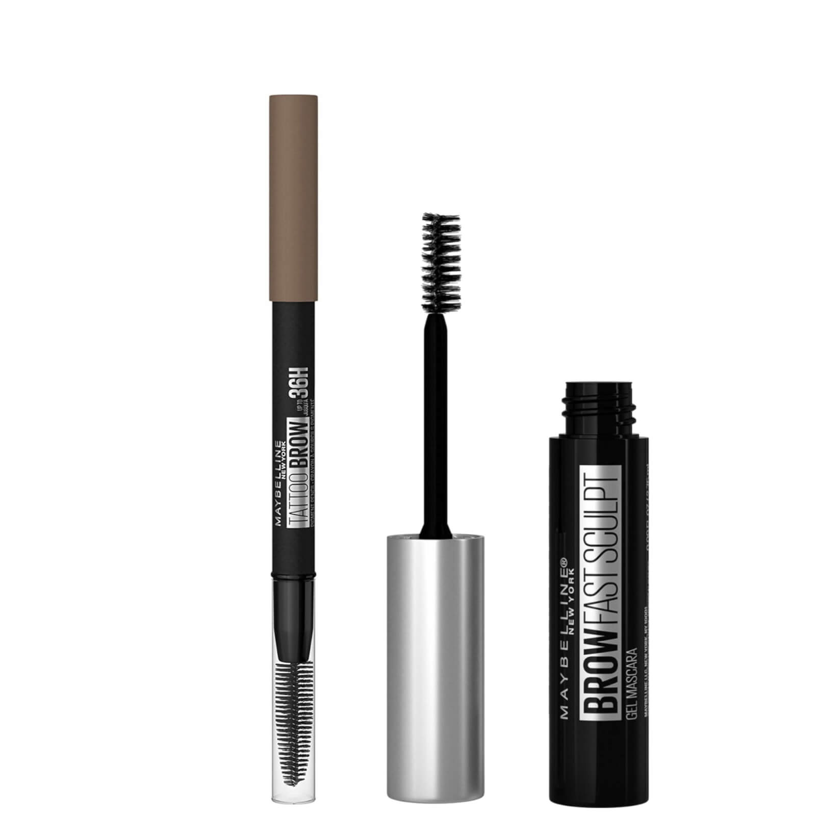 Maybelline Fill and Set Brow Bundle (Various Shades) - Blonde 02