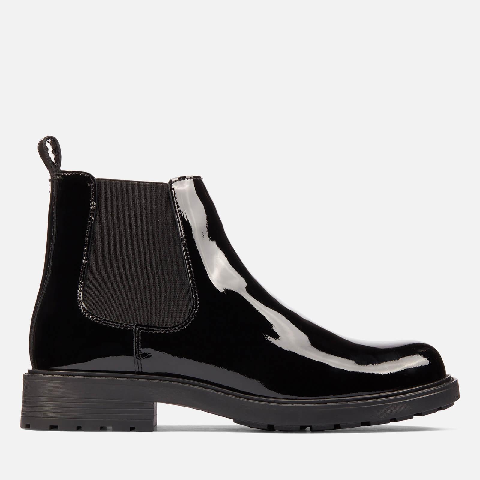 Clarks Women's Orinoco 2 Lane Patent Chelsea Boots - Black - Uk 3