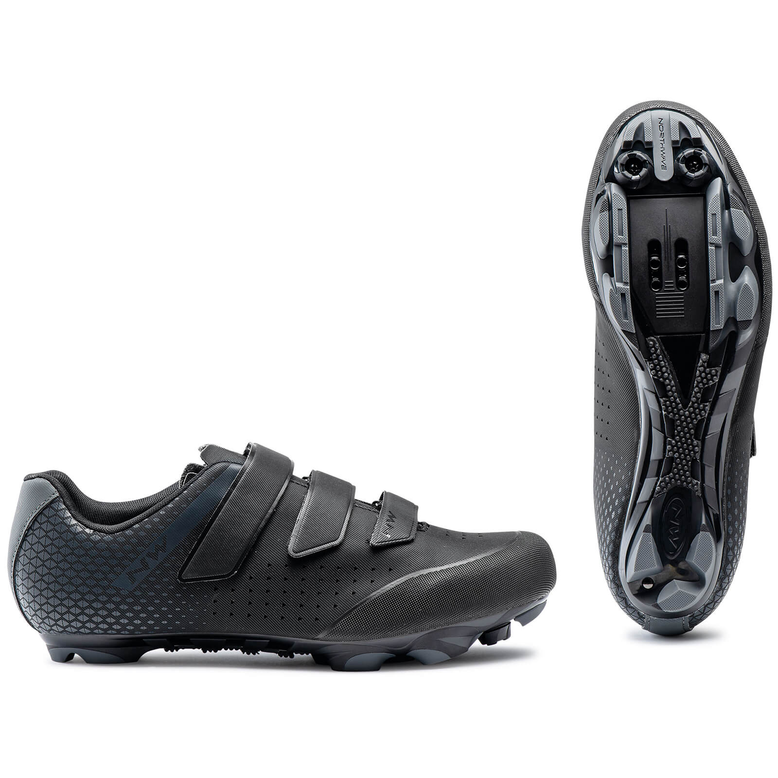 Northwave Origin 2 MTB Shoes - EU43 - Black/Anthra
