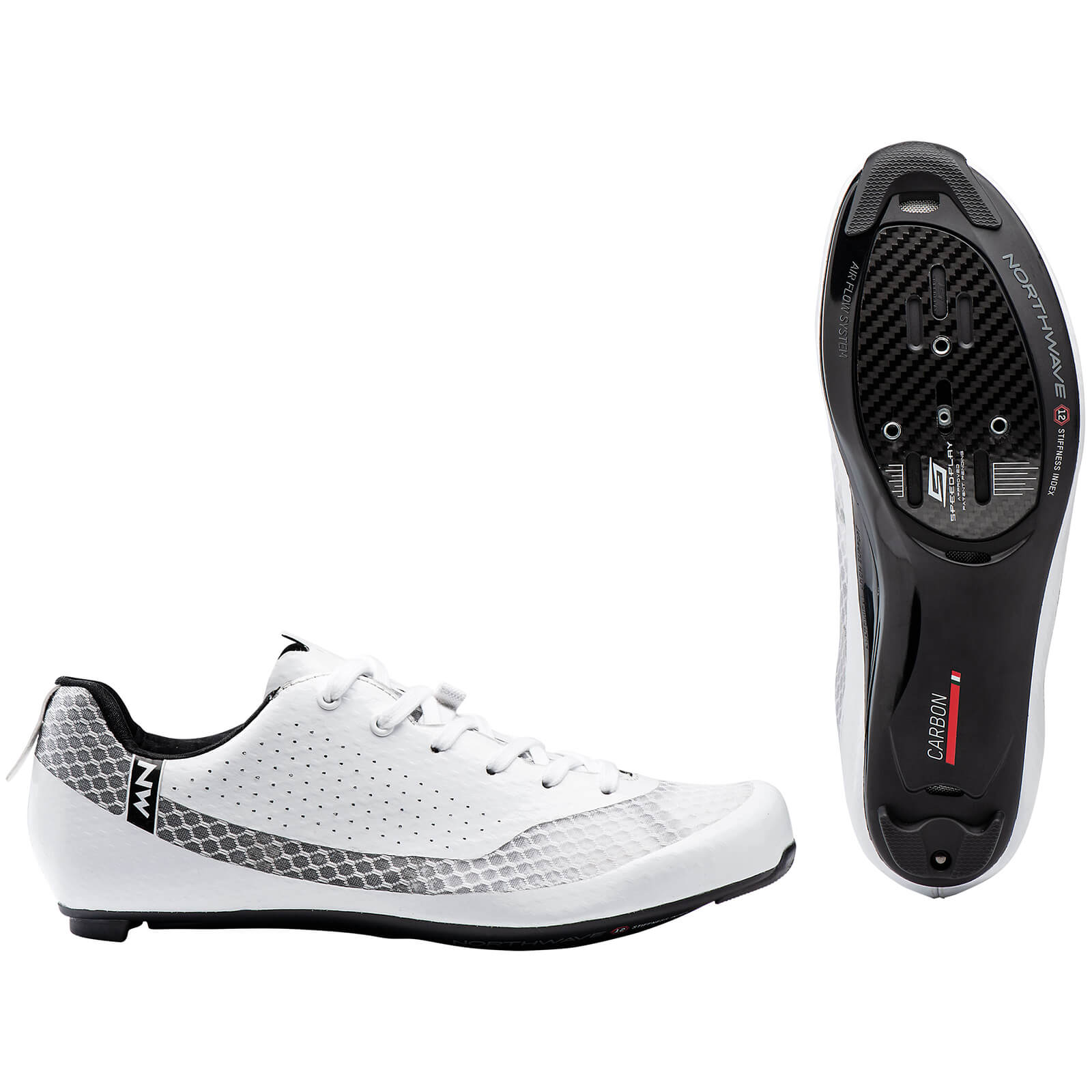 Northwave Mistral Plus Road Shoes - EU44 - Weiß