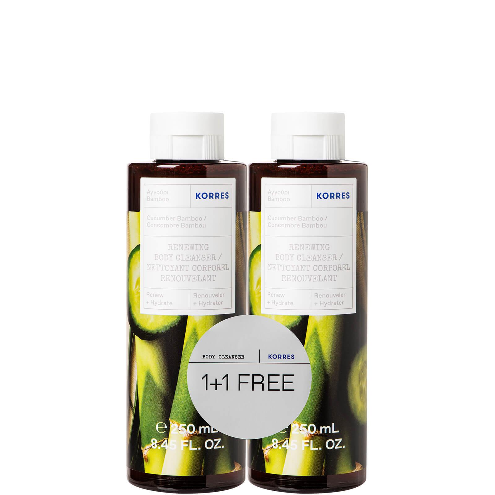 Купить KORRES Cucumber Bamboo Body Cleanser Duo