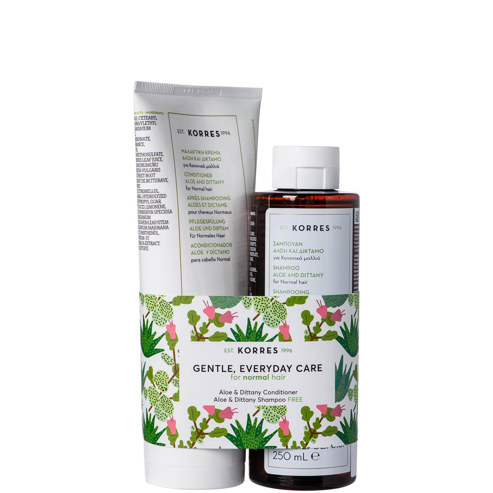 Купить KORRES Aloe & Dittany Kit Conditioner and Shampoo Duo