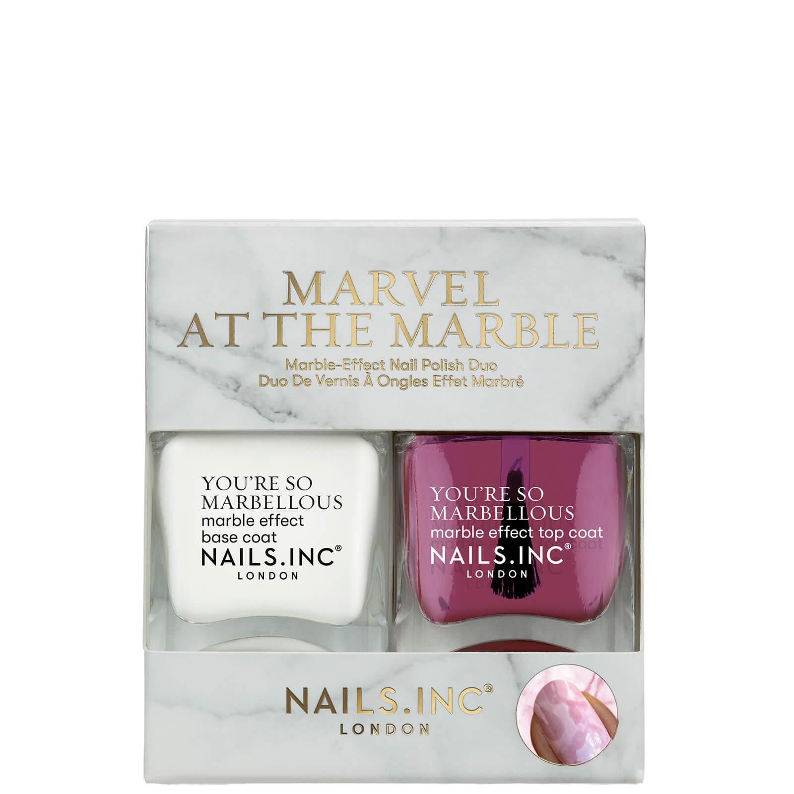 Купить Nails inc. Marvel at the Marble Duo