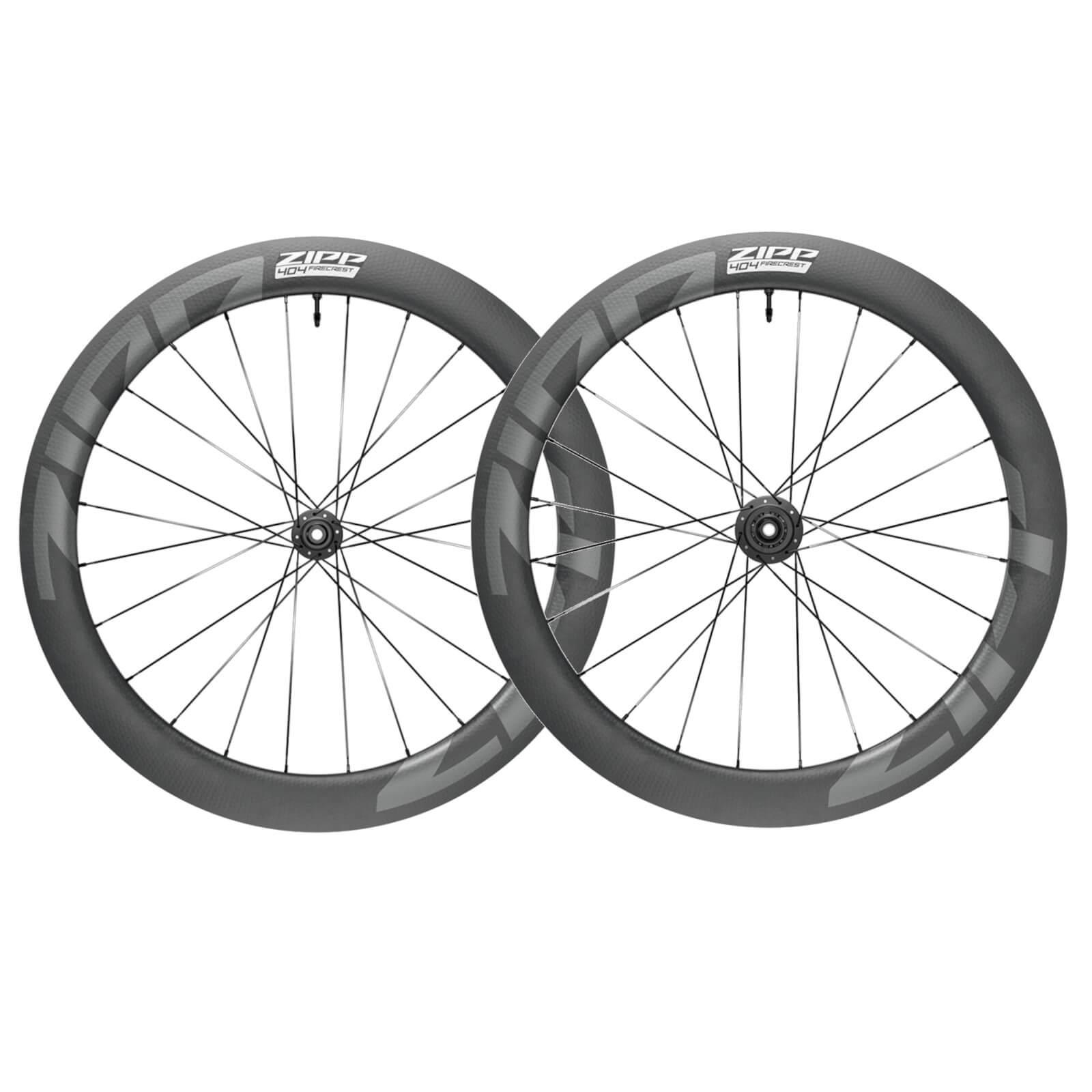 Zipp 404 Firecrest Carbon Tubeless Disc Brake Wheelset - Shimano/SRAM