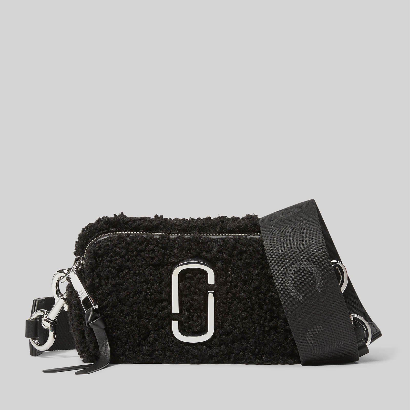 Marc Jacobs Women's Snapshot Teddy Bag - Black