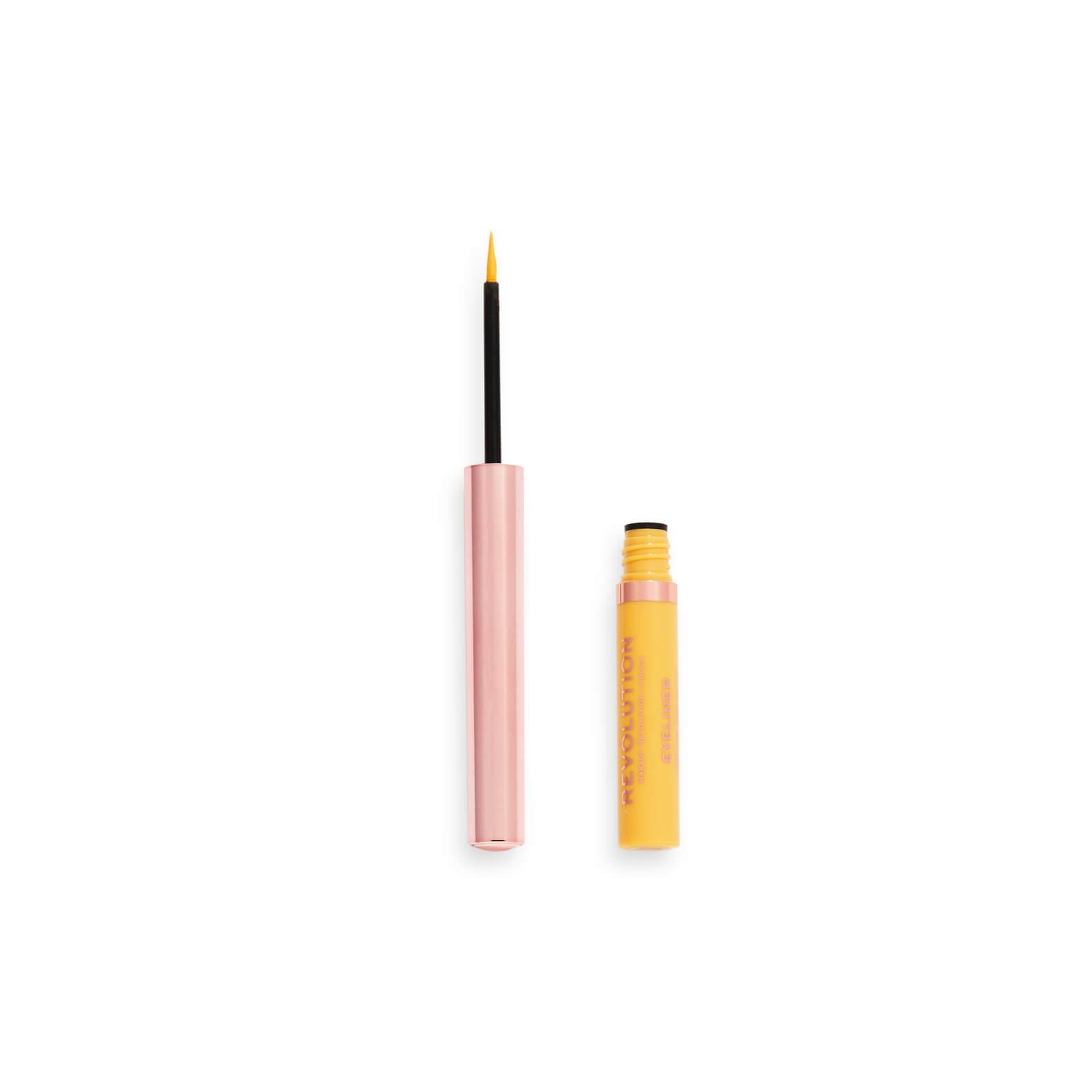 Купить Revolution Neon Heat Coloured Liquid Eyeliner 10g (Various Shades) - Lemon Yellow