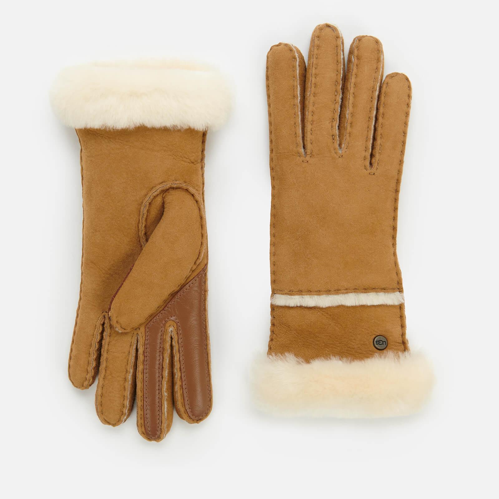 UGG Women's Seamed Tech Glove - Chestnut - M