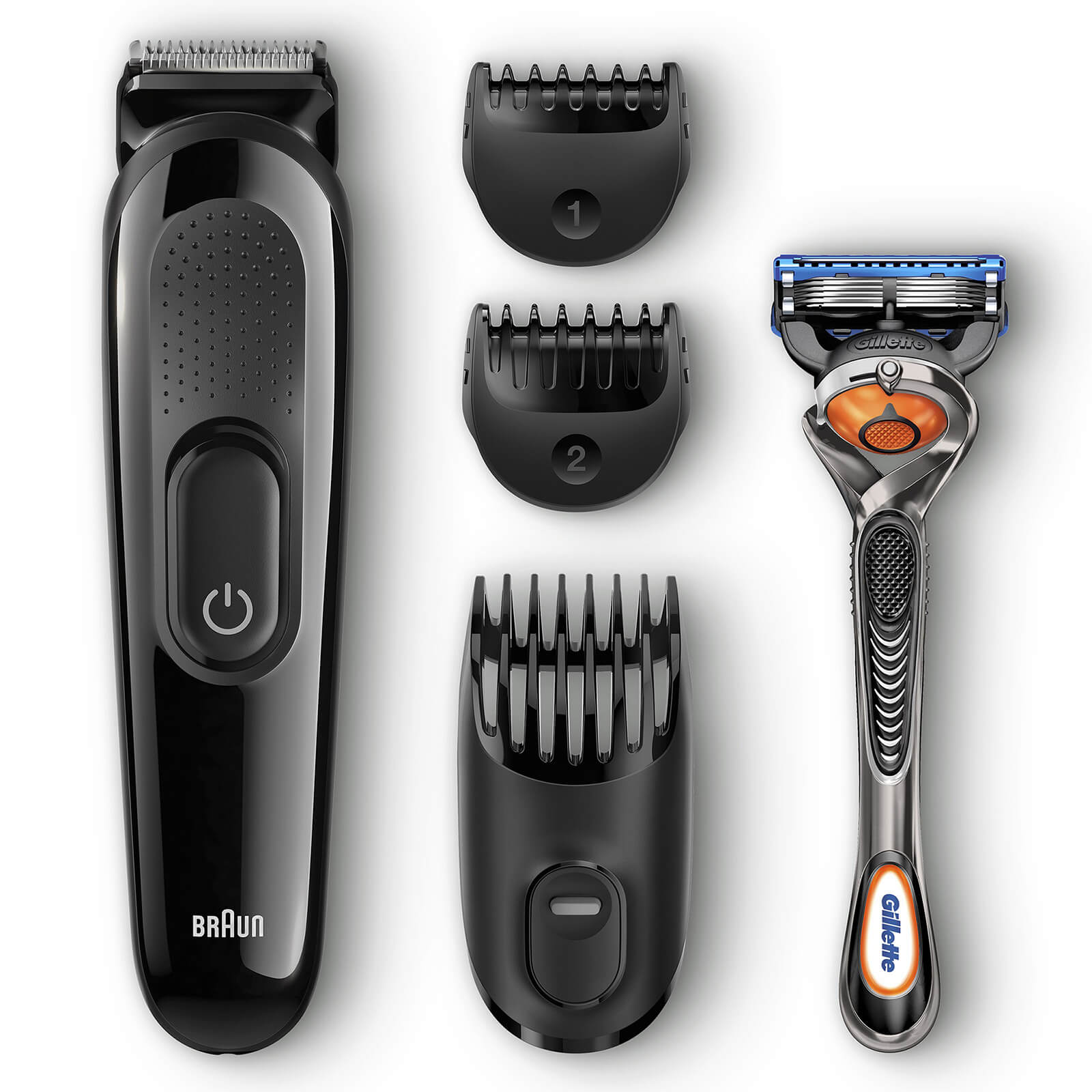 4-in-1 Styling Kit with Gillette Razor