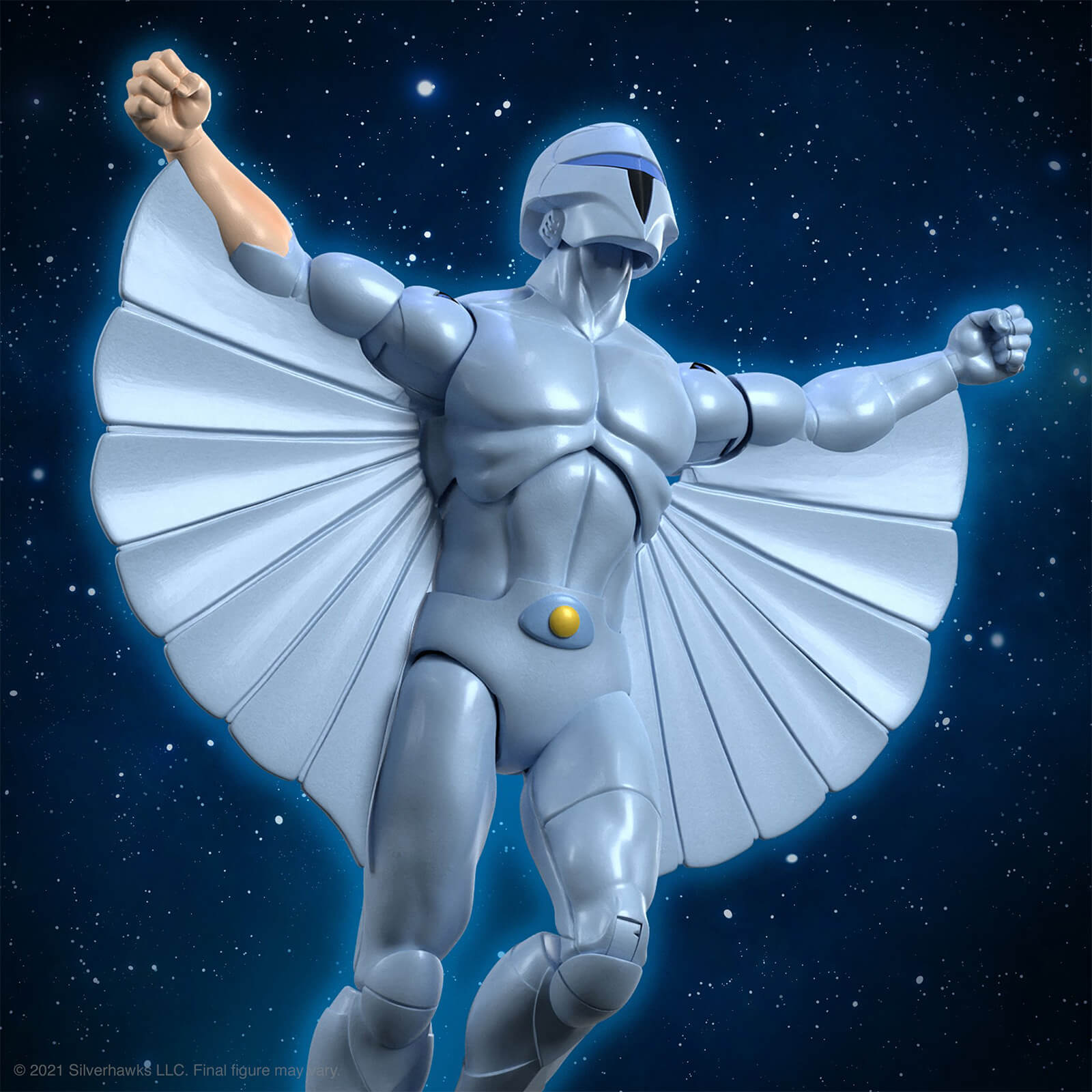 Super7 Silverhawks ULTIMATES! Figure - Quicksilver