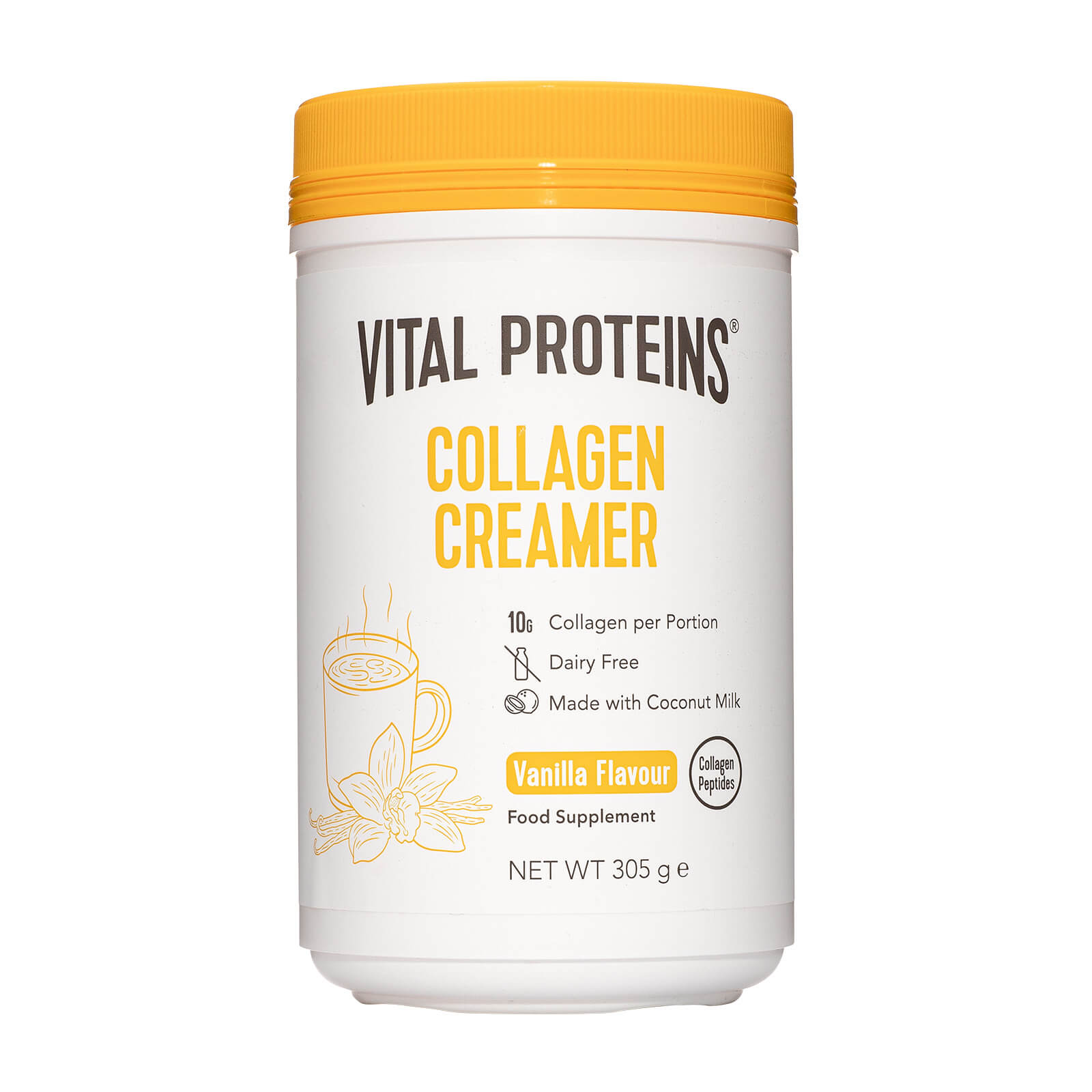Collagen Creamer - Vanilla Subscription 557 - Delivery Every 1 Month