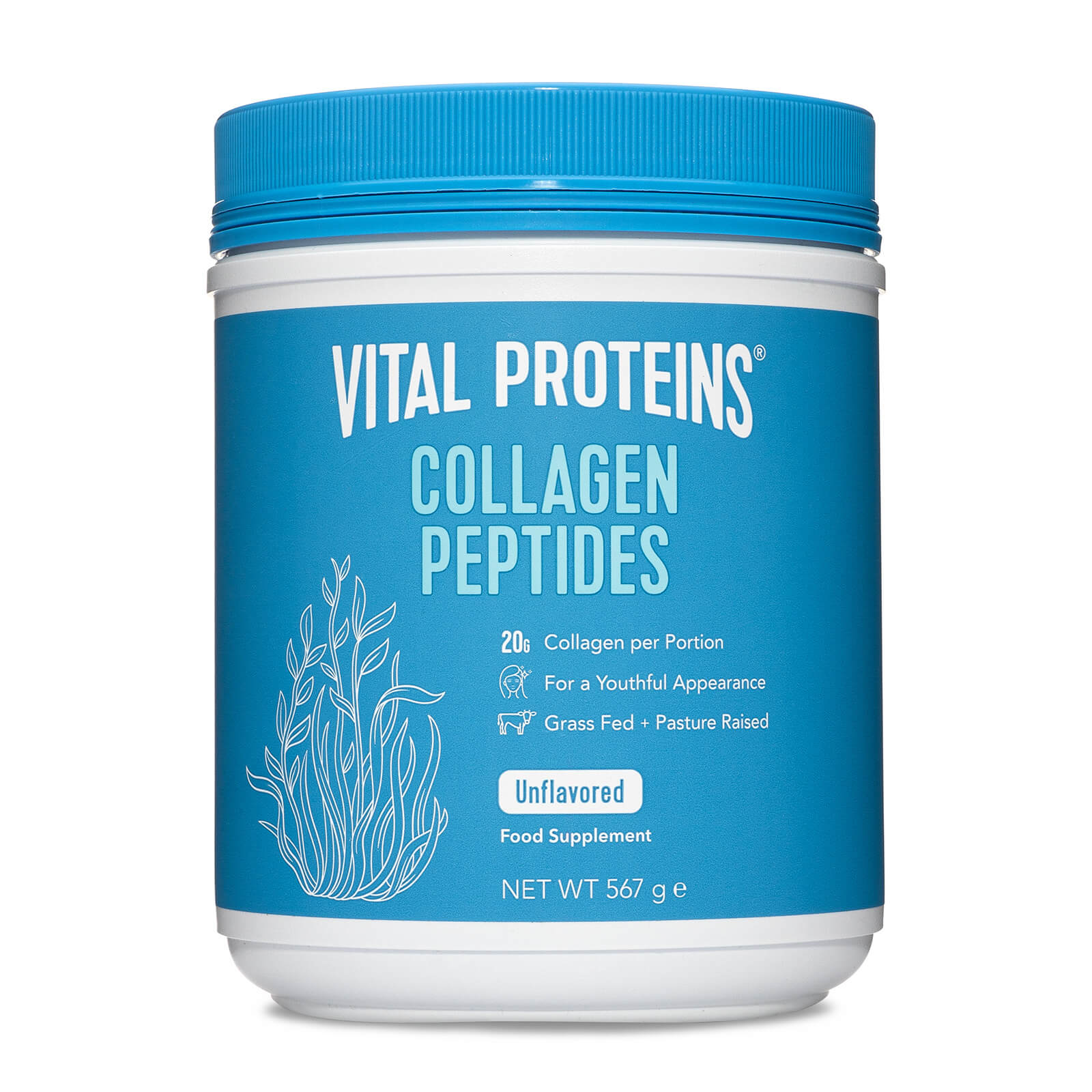 Collagen Peptides - 20oz Subscription - Delivery Every 1 Month