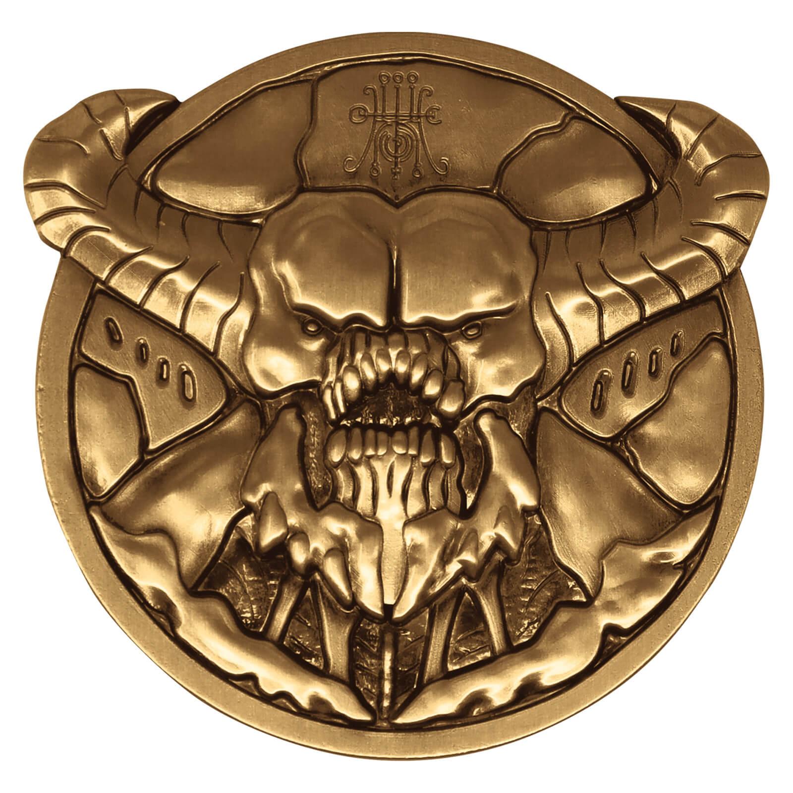 Fanattik Doom Baron Level Up Collectors Medallion