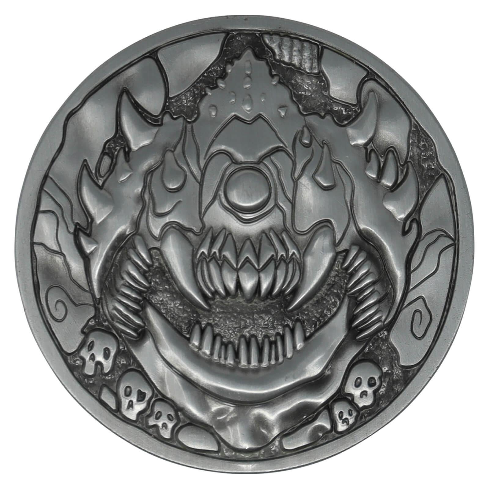 Fanattik Doom Cacodemon Level Up Collectors Medallion