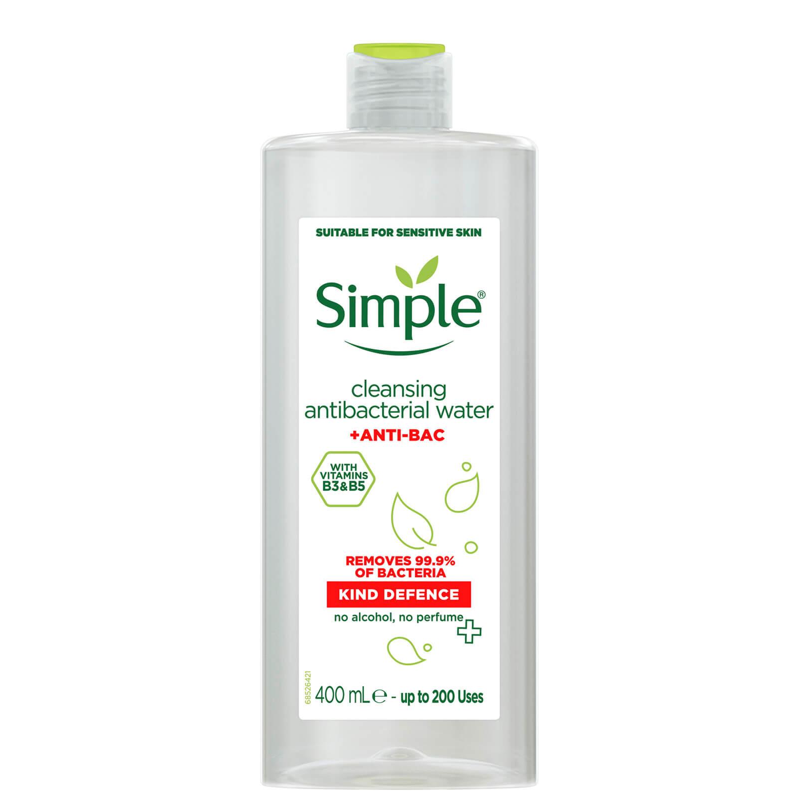 Купить Мицеллярная вода Simple Kind Defence Anti-Bac, 400 мл