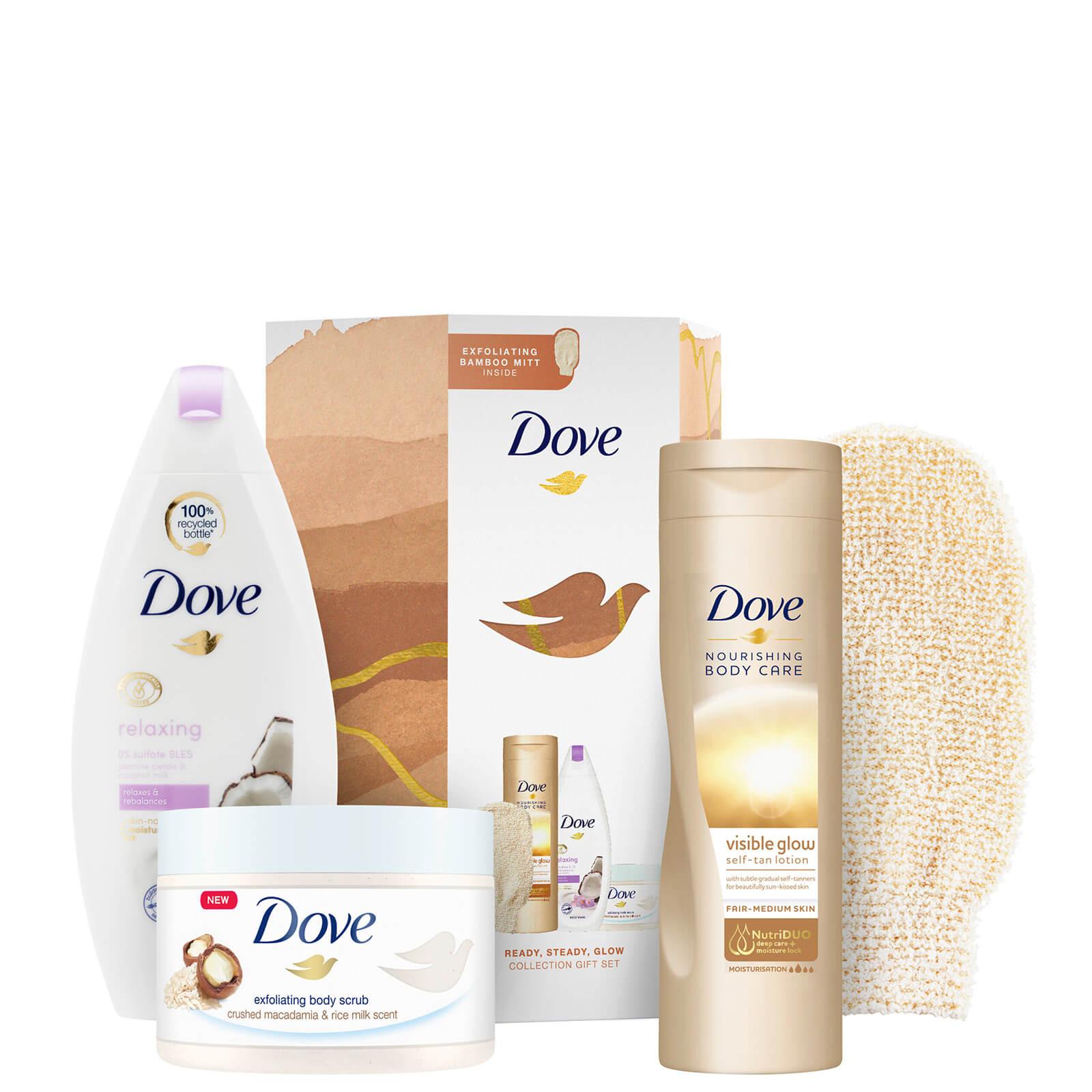 Купить Подарочный набор Dove Ready Steady Glow Collection