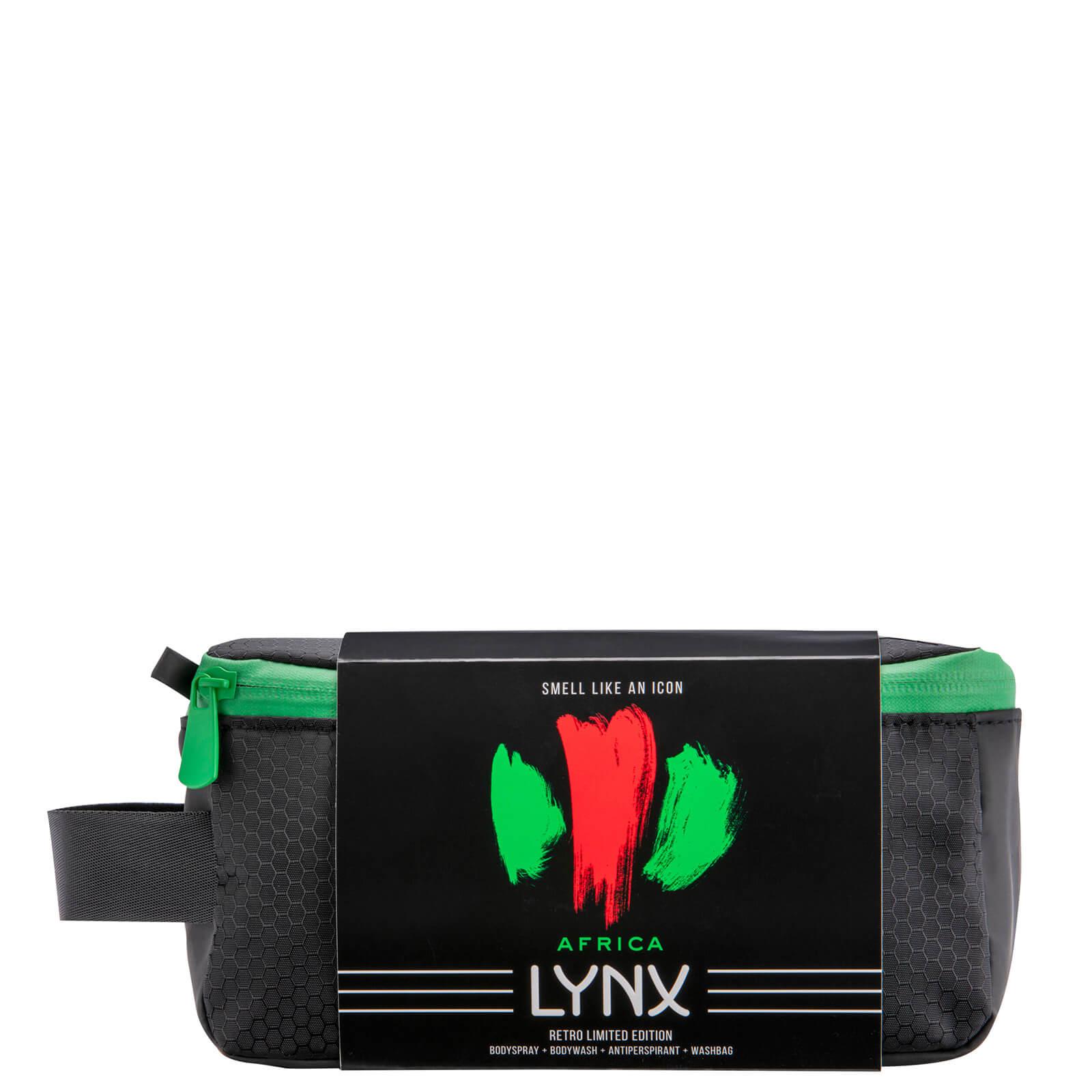 Lynx Classic Africa Washbag Gift Set