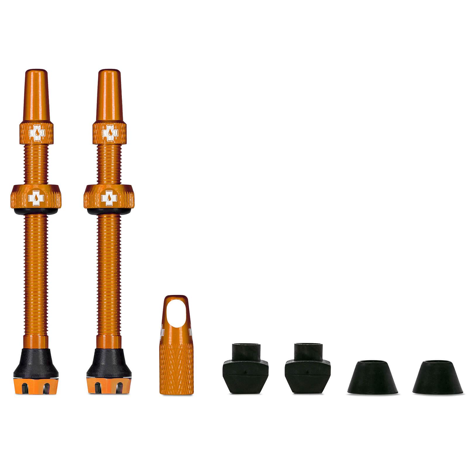 Muc-Off Tubeless Valves V2 - 80mm - Orange