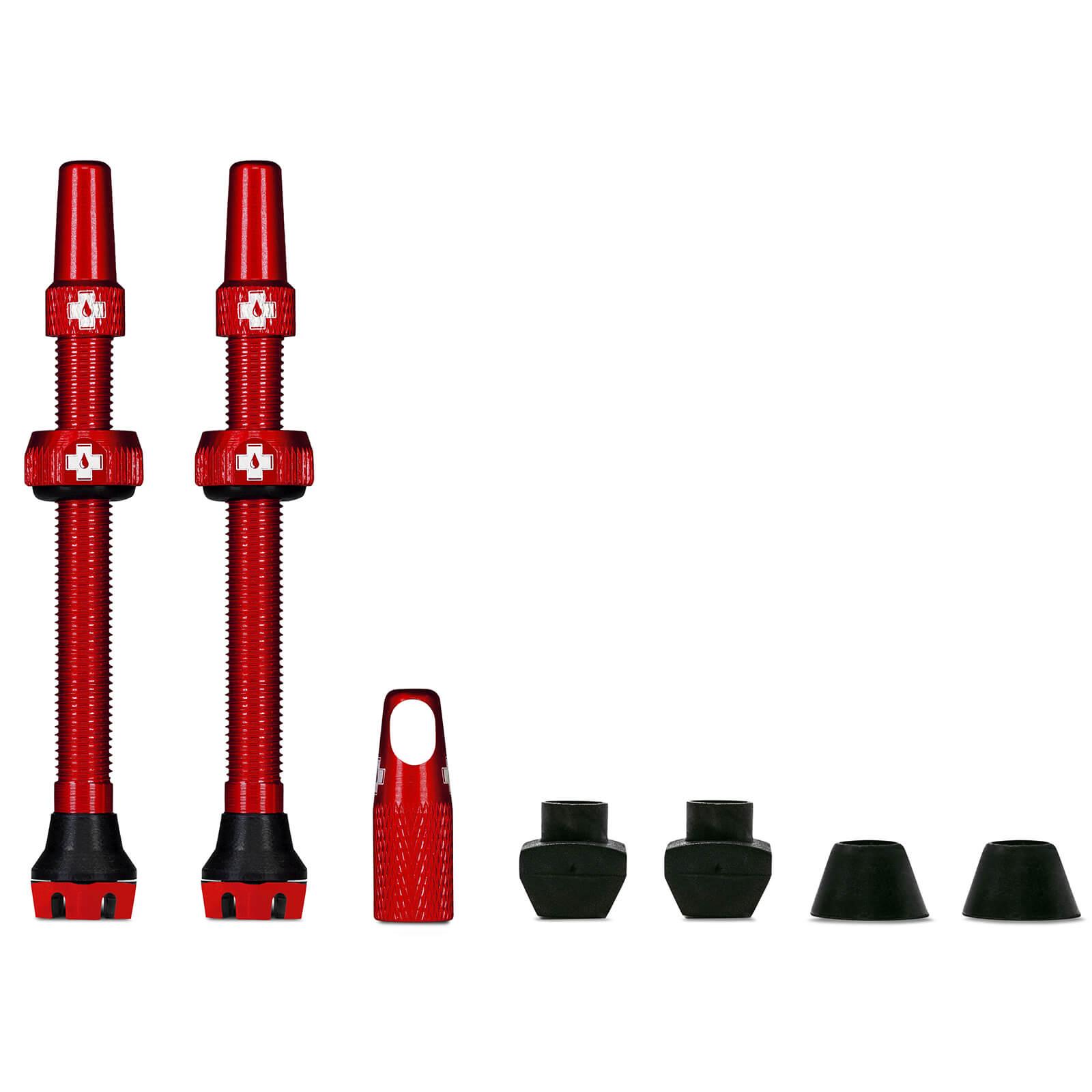 Muc-Off Tubeless Valves V2 - 80mm - Rot