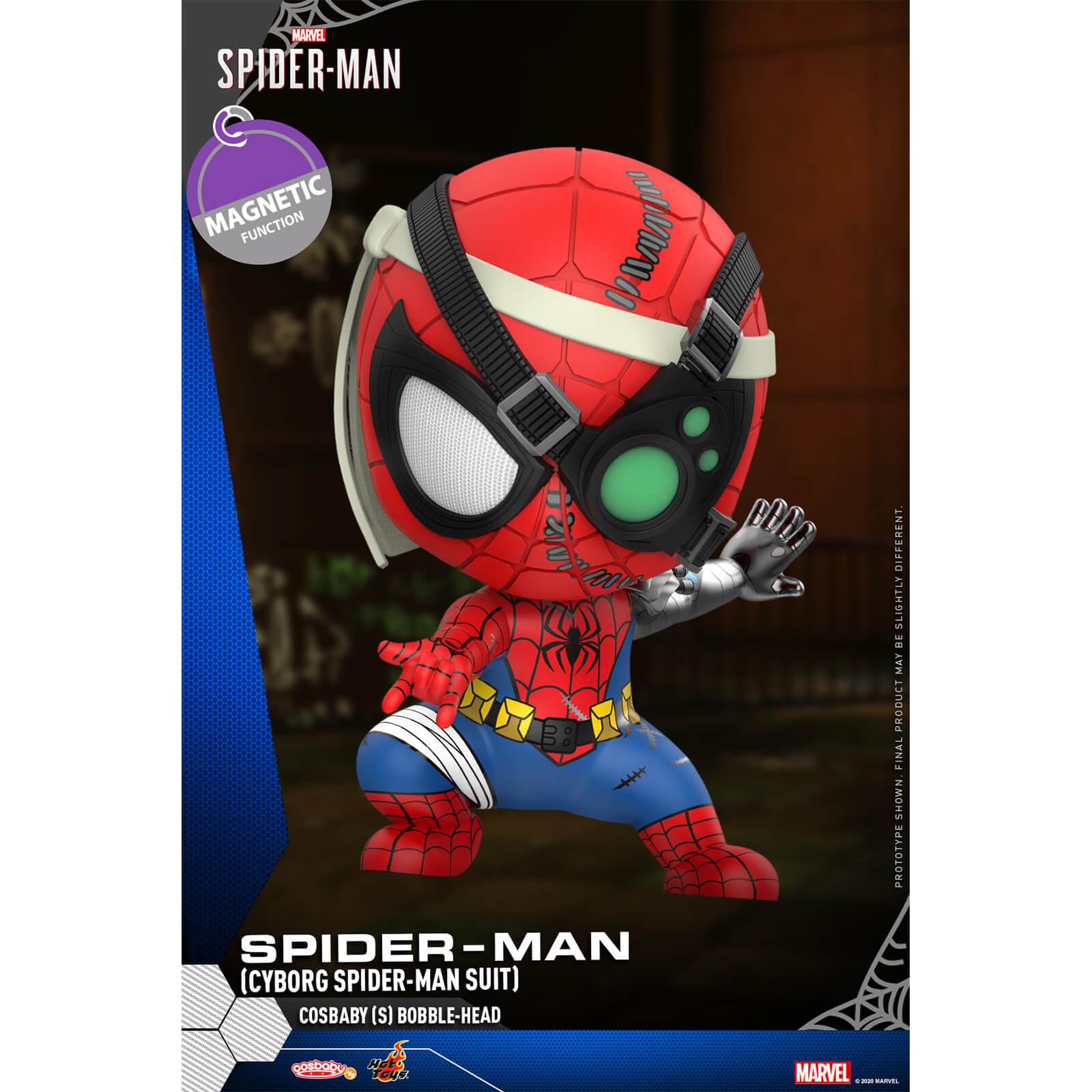 Hot Toys Cosbaby Marvel's Spider-Man [Size S] - Spider-Man (Cyborg Spider-Man Suit Version)