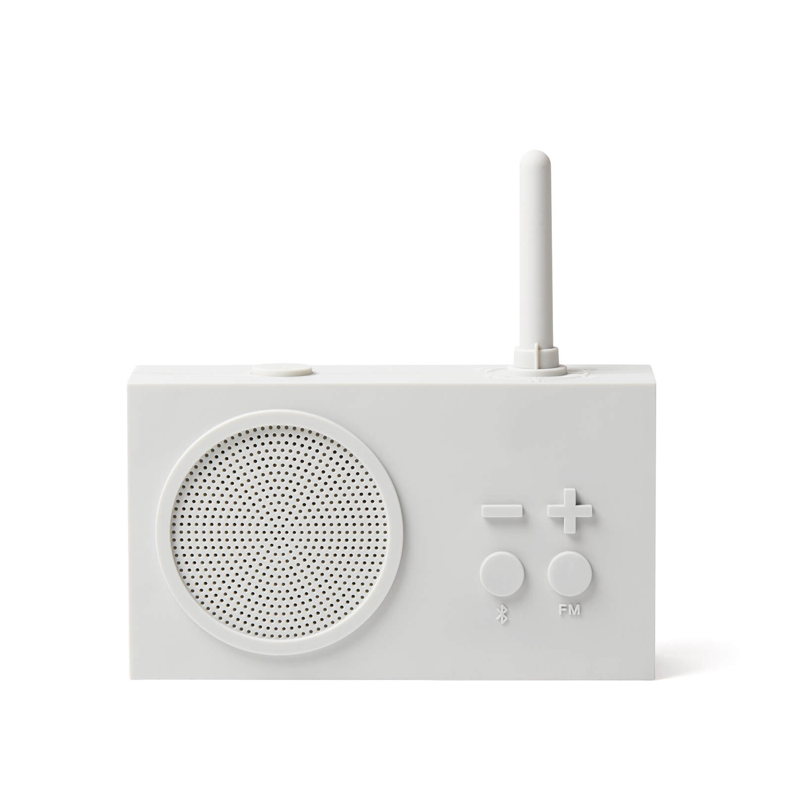 Lexon TYKHO 3 FM Radio and Bluetooth Speaker - Off White