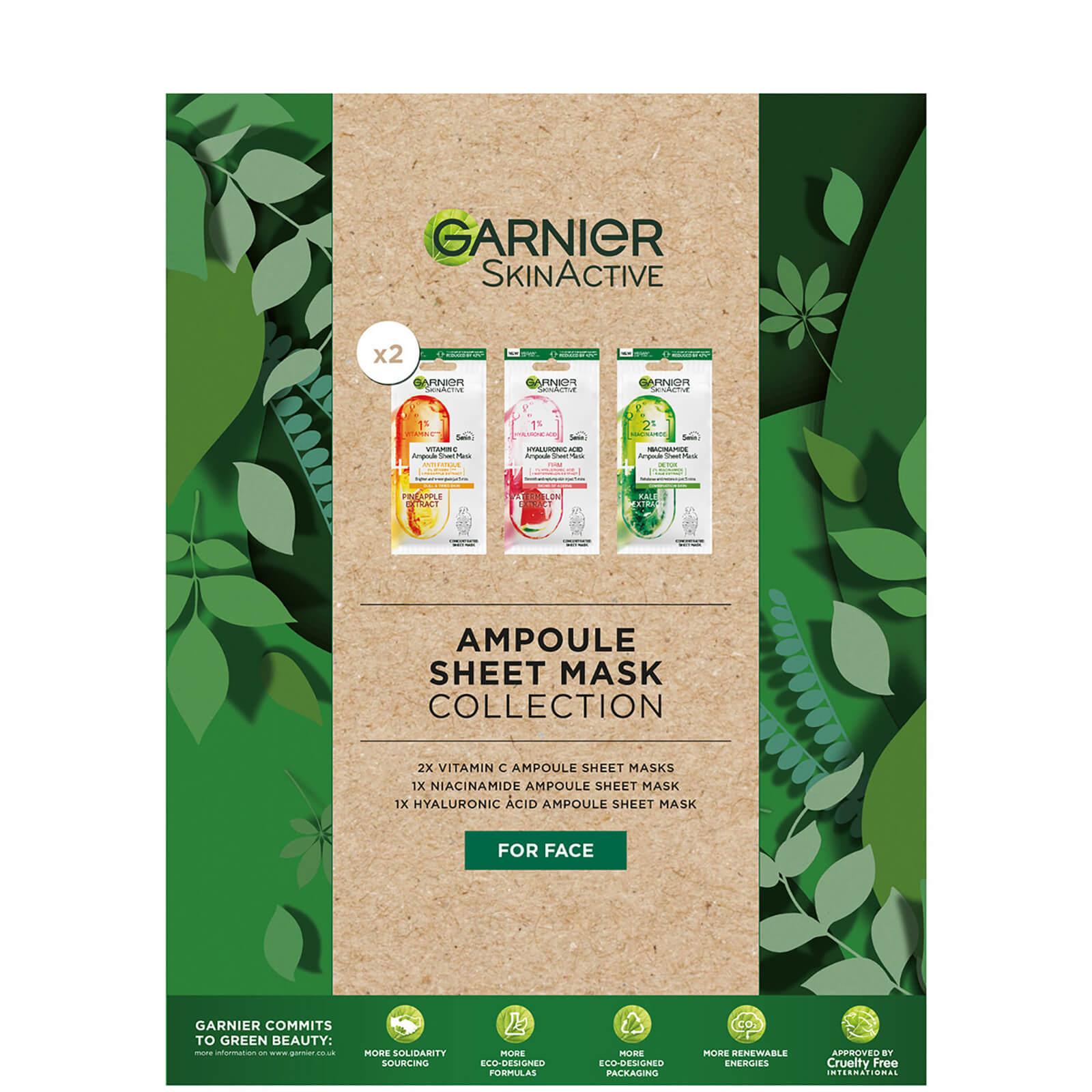 Garnier Ampoule Sheet Mask Collection