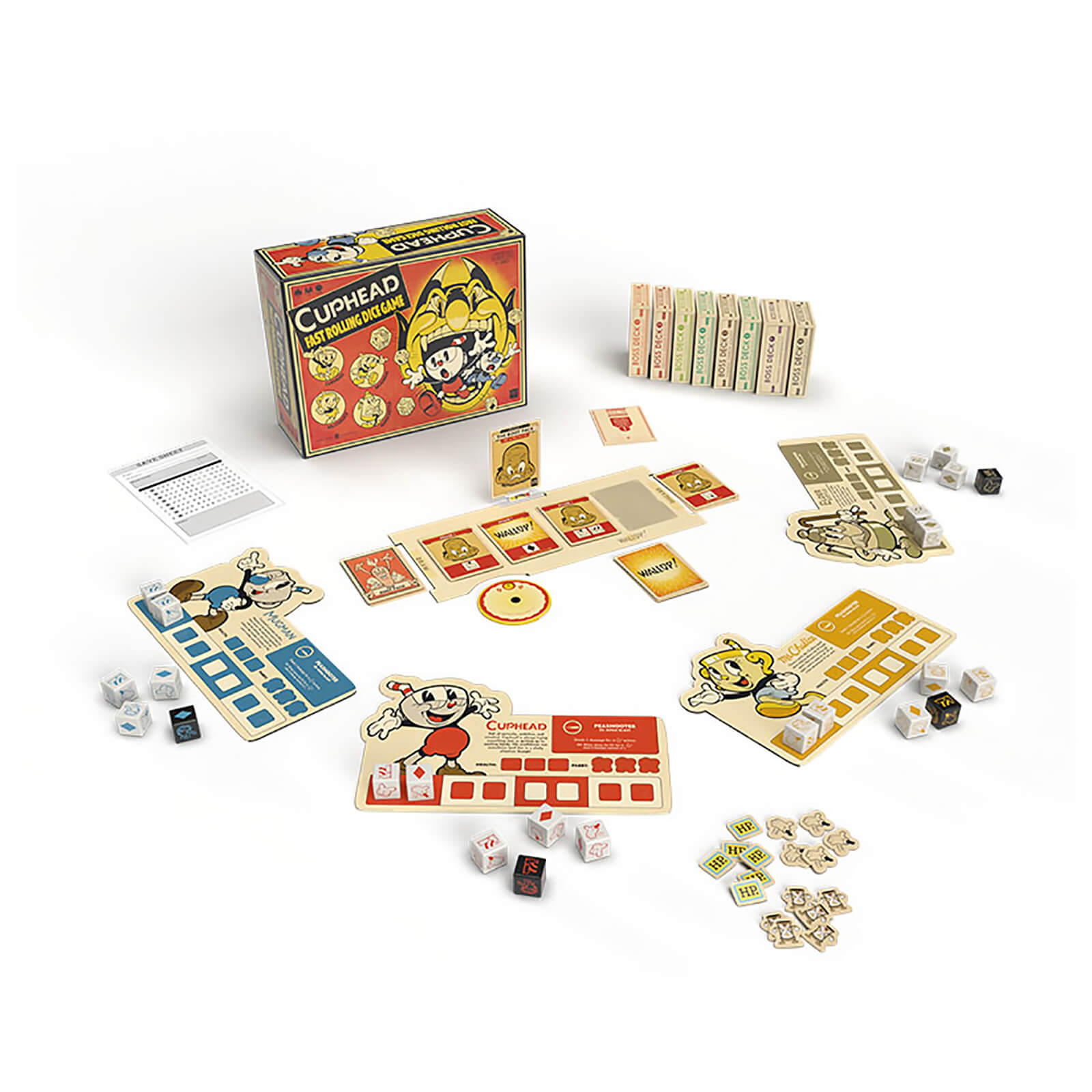 Cuphead Fast Rolling Dice Game