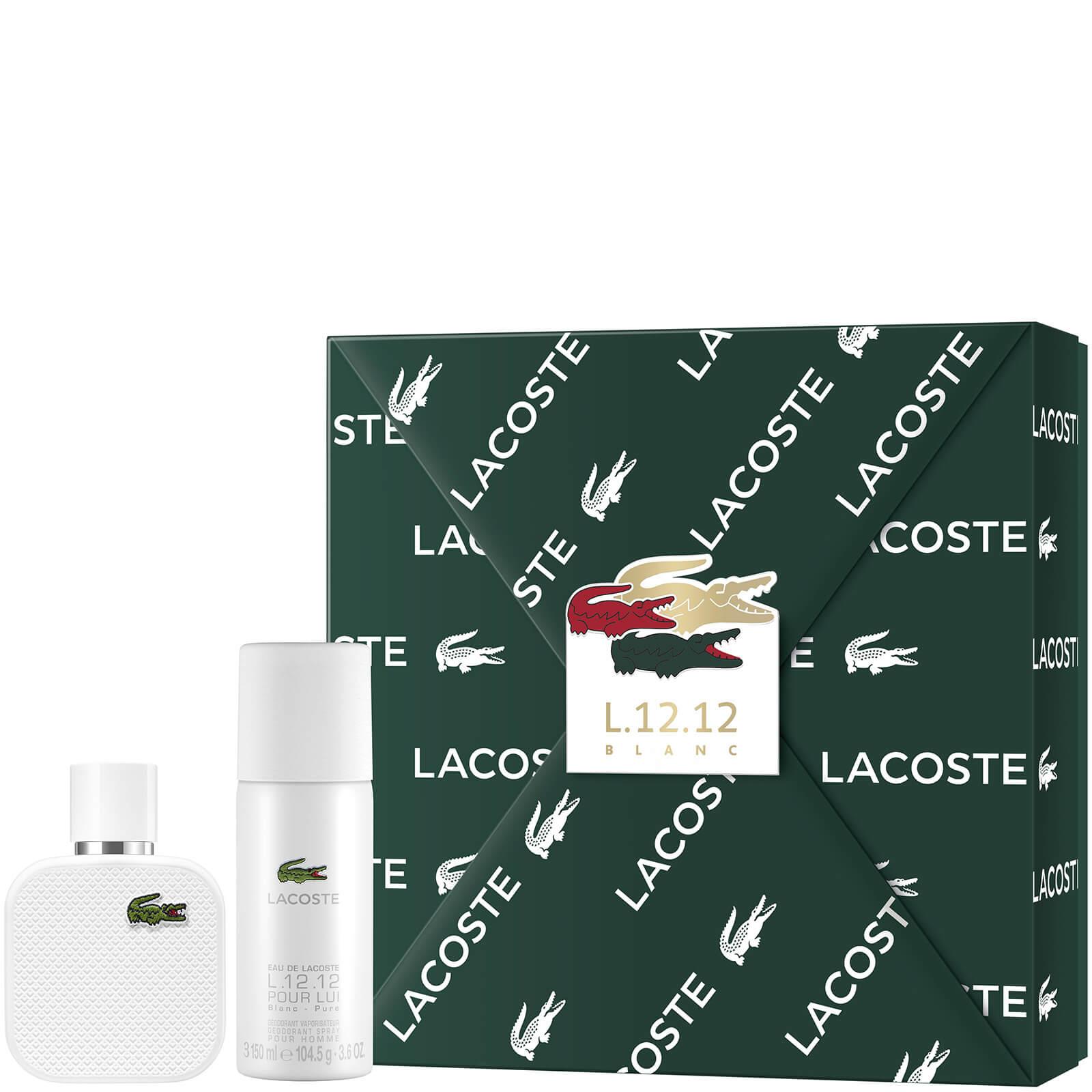 Купить Lacoste L.12.12 Blanc For Him Eau De Toilette 50ml Gift Set