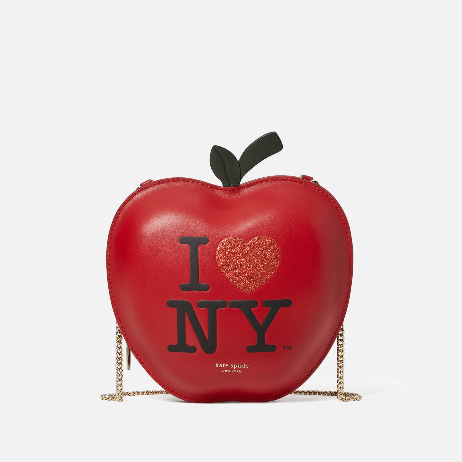 Kate Spade New York Women's Big Apple I Heart NY Leather - Red Multi