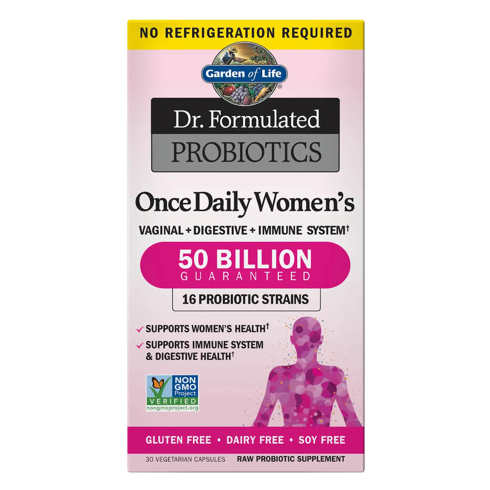 Garden of Life Microbiome Once Daily Women's - 30 Capsules Subscription - Every 3 Months