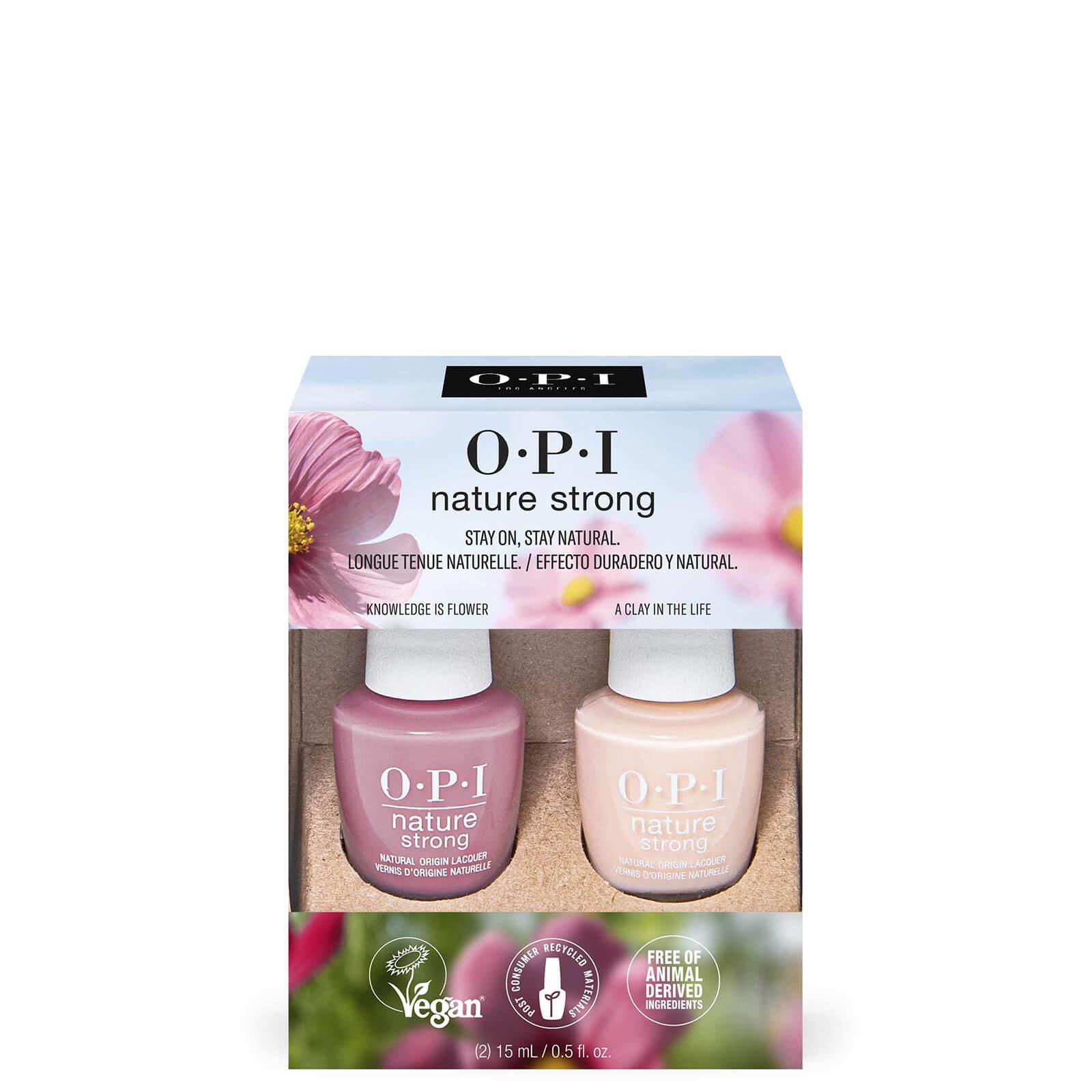 Купить OPI Nature Strong Natural Vegan Nail Polish Duo Pack - Nature Strong