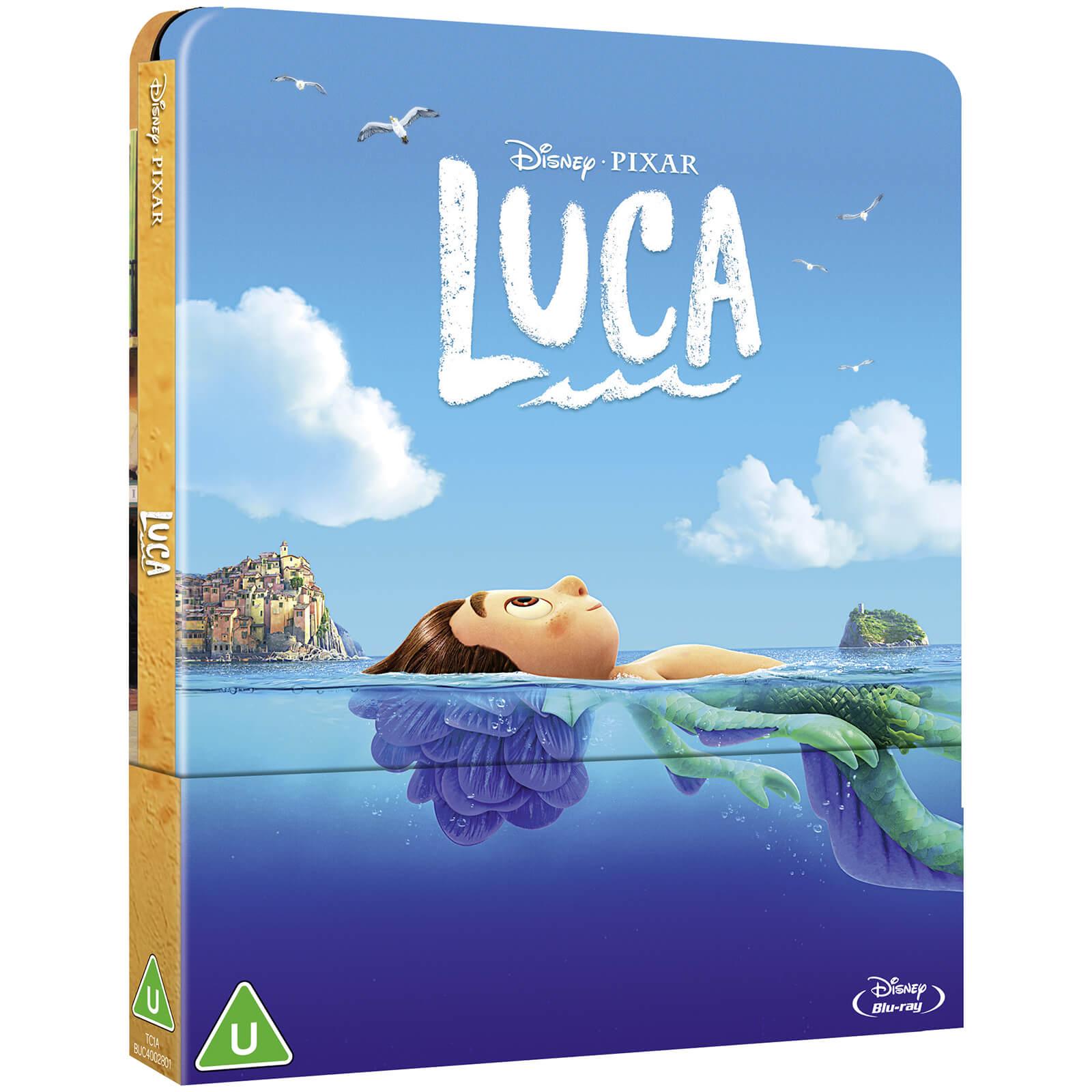 Luca - Zavvi Exclusive Blu-ray Steelbook
