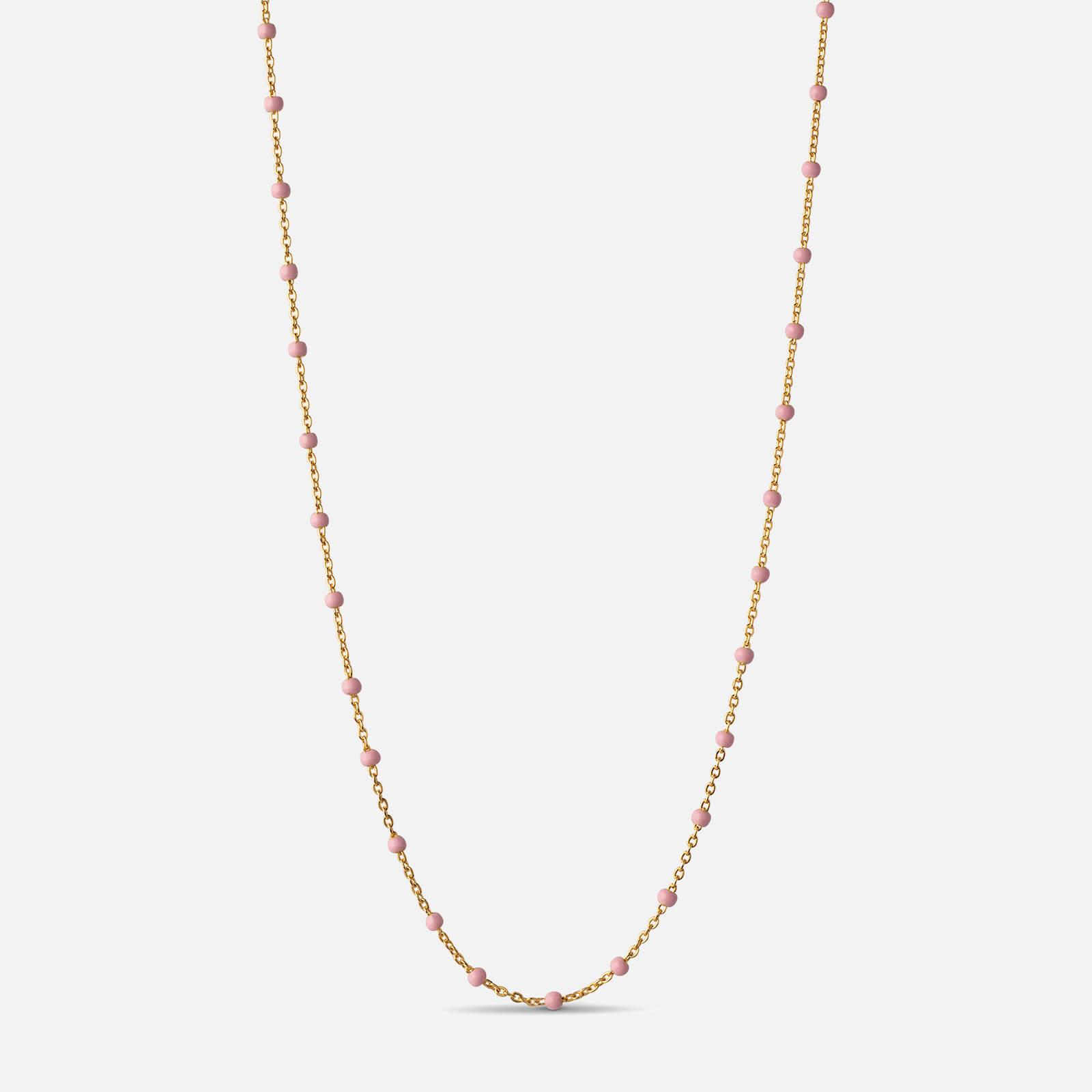 ENAMEL Copenhagen Women's Lola Necklace - Light pink