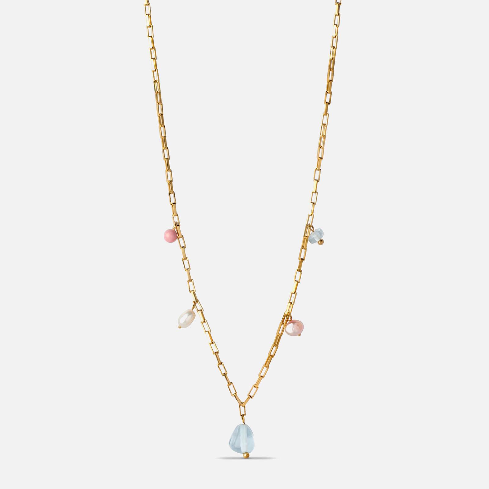 ENAMEL Copenhagen Women's Mellow Necklace - Blue