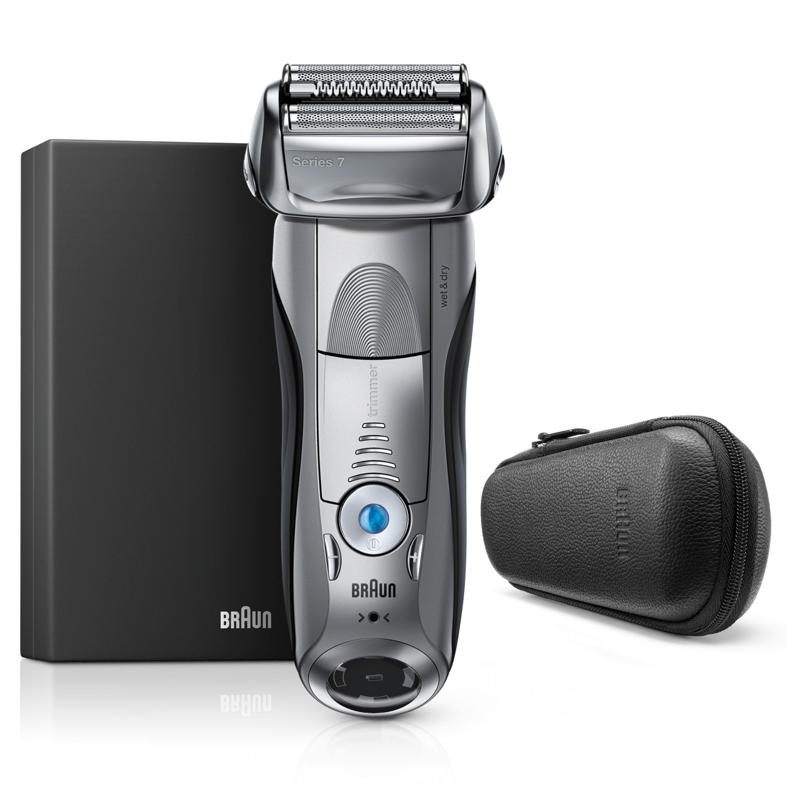Series 7 Shaver with Precision Trimmer and Leather Case