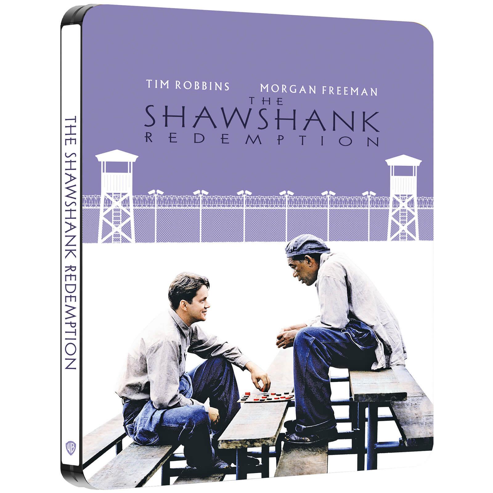 The Shawshank Redemption - Zavvi Exclusive 4K Ultra HD Steelbook (Includes Blu-ray)