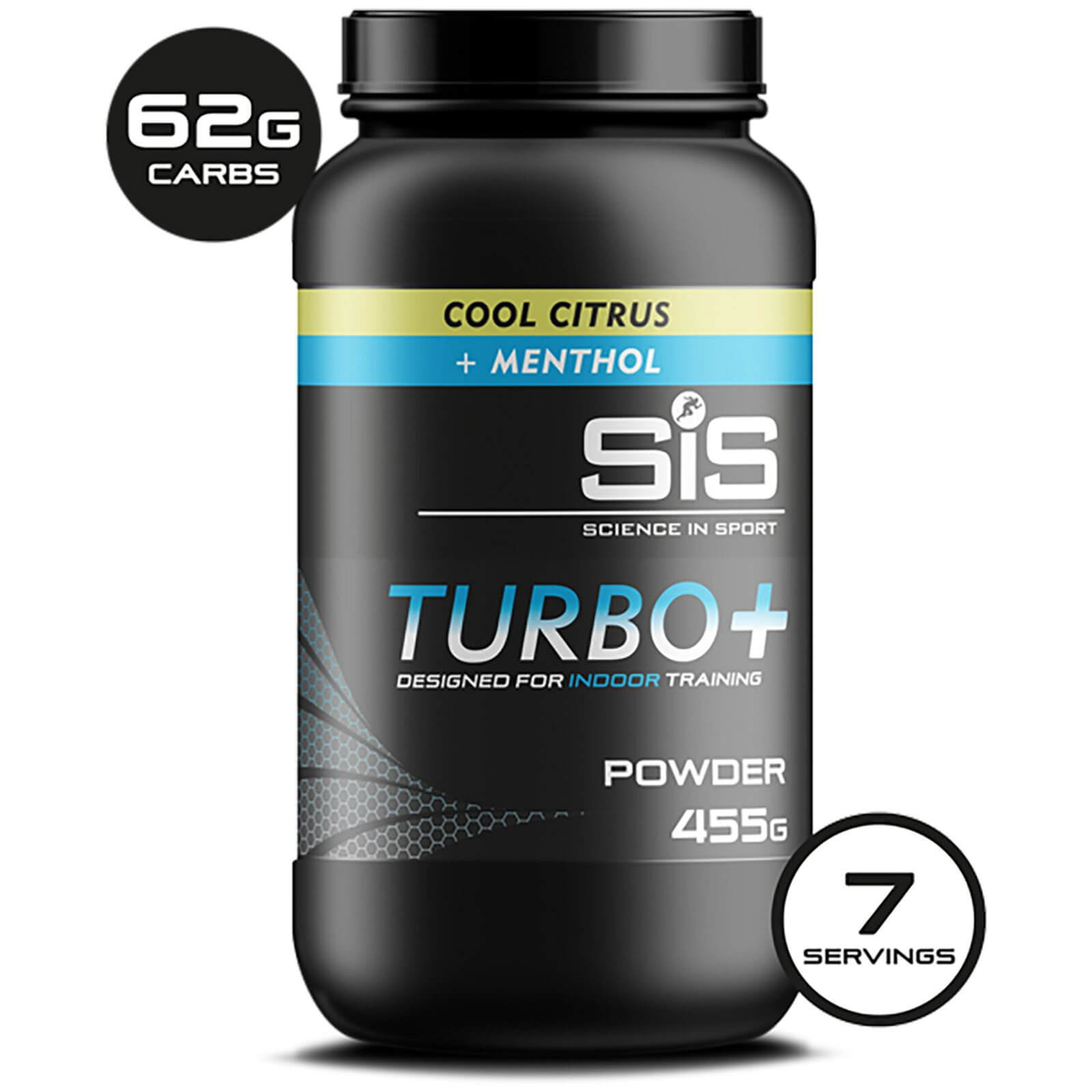 Science in Sport Turbo+ Energy Drink Powder 455g Tub - Cool Citrus