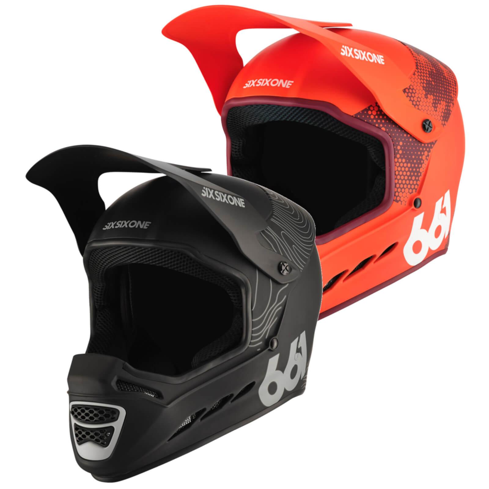 SixSixOne Reset MIPS MTB Helmet - XL - Contour Black
