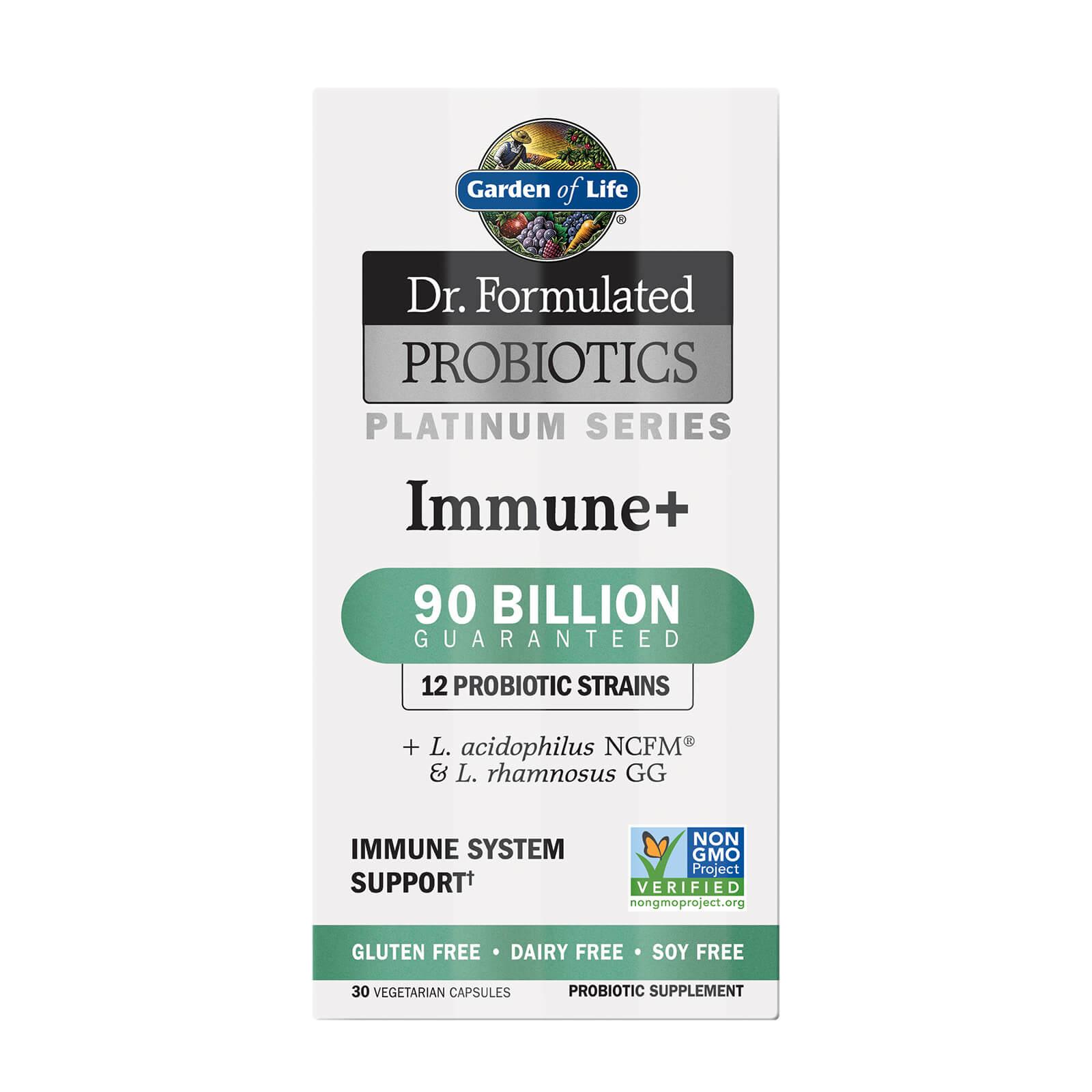 Microbiomes Platinum Immune 90B - Cooler - 30 capsules Subscription - Fourmonthly