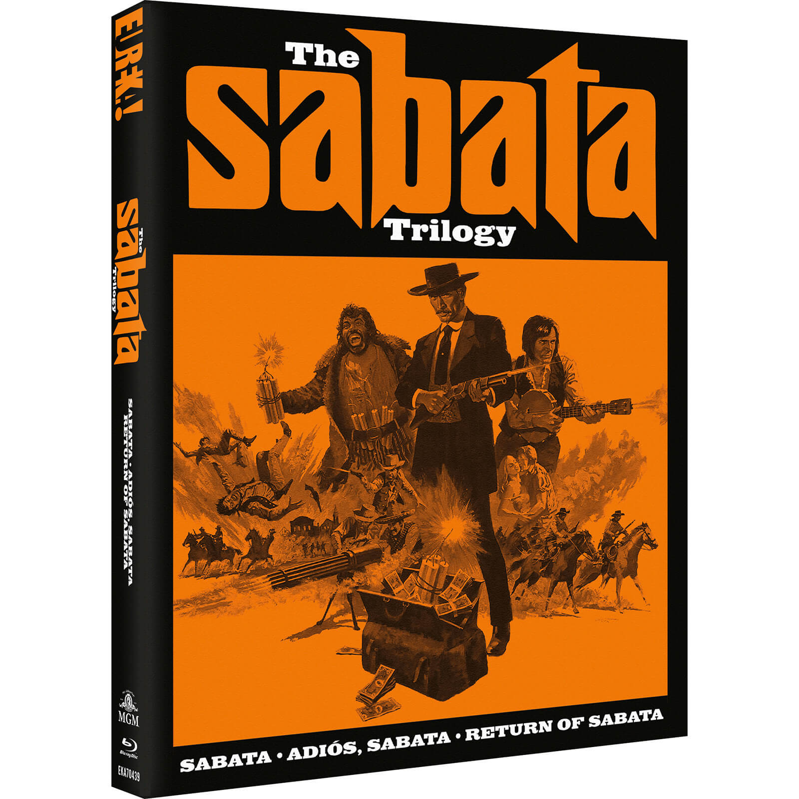 The Sabata Trilogy (Eureka Classics)