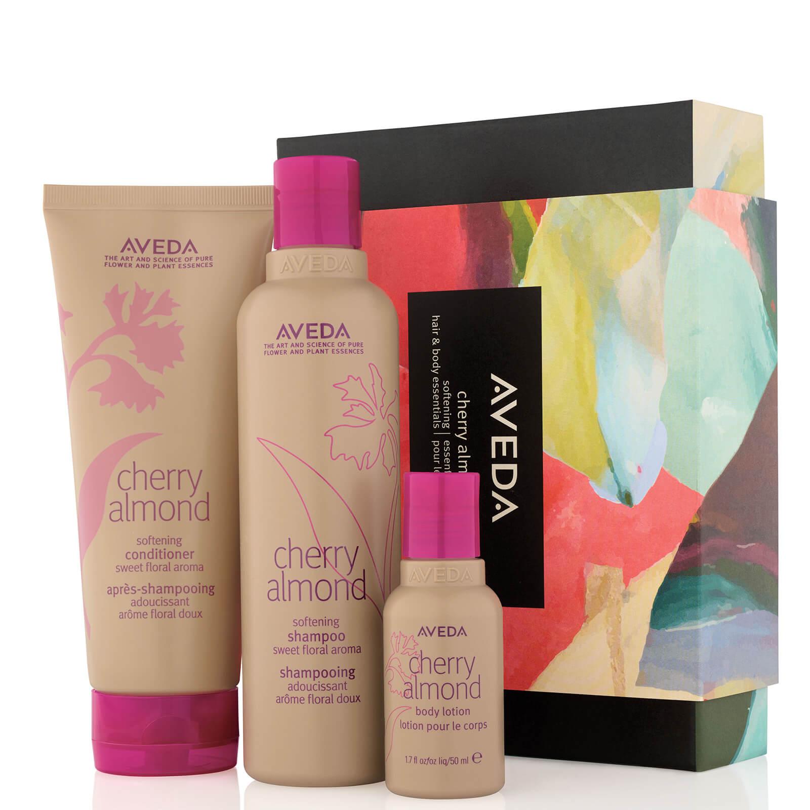 Aveda Cherry Almond Softening Hair and Body Essentials Set (Worth £44.00)